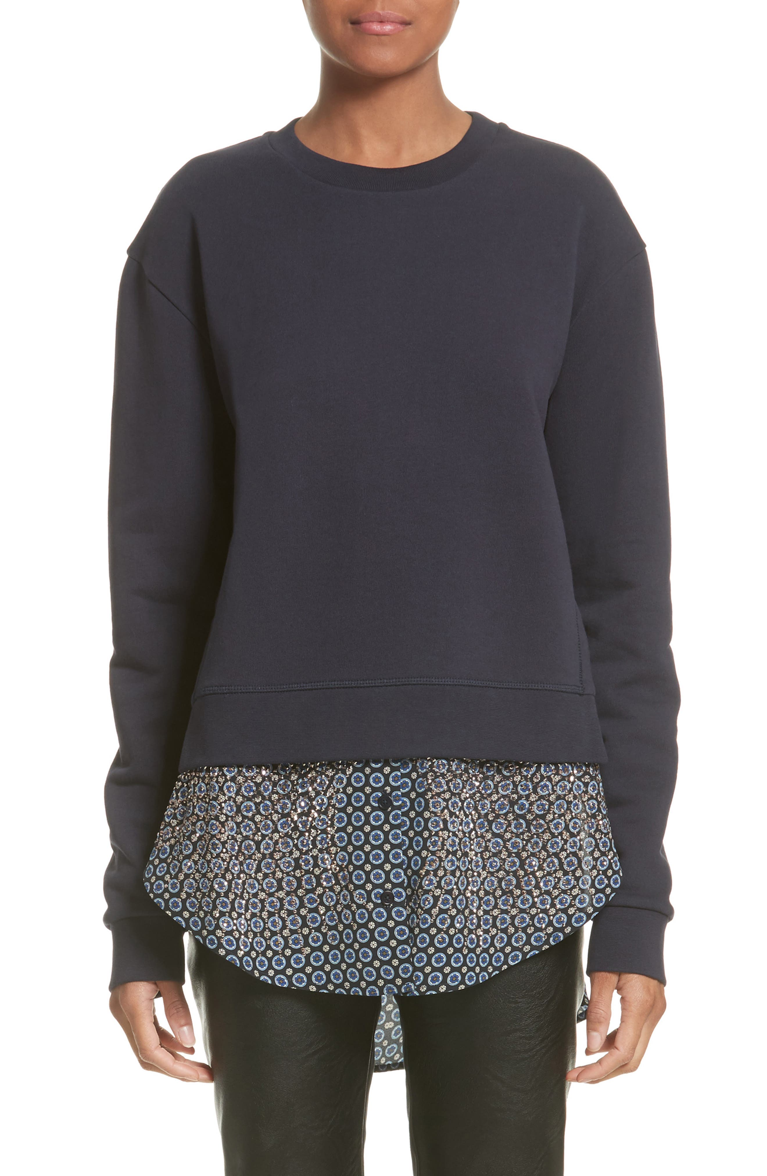 STELLA MCCARTNEY Layered Hem Sweater