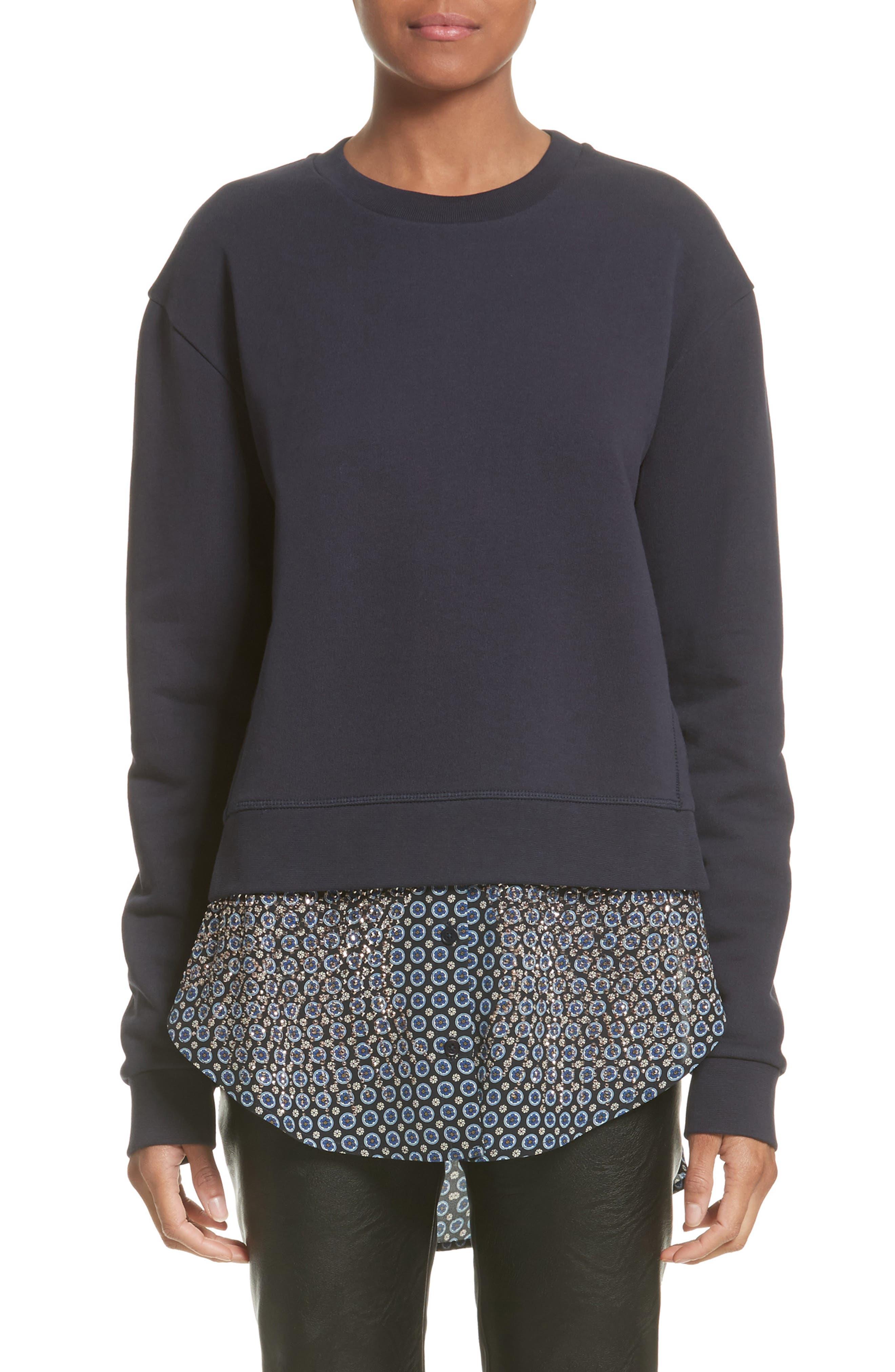 Stella McCartney Layered Hem Sweater