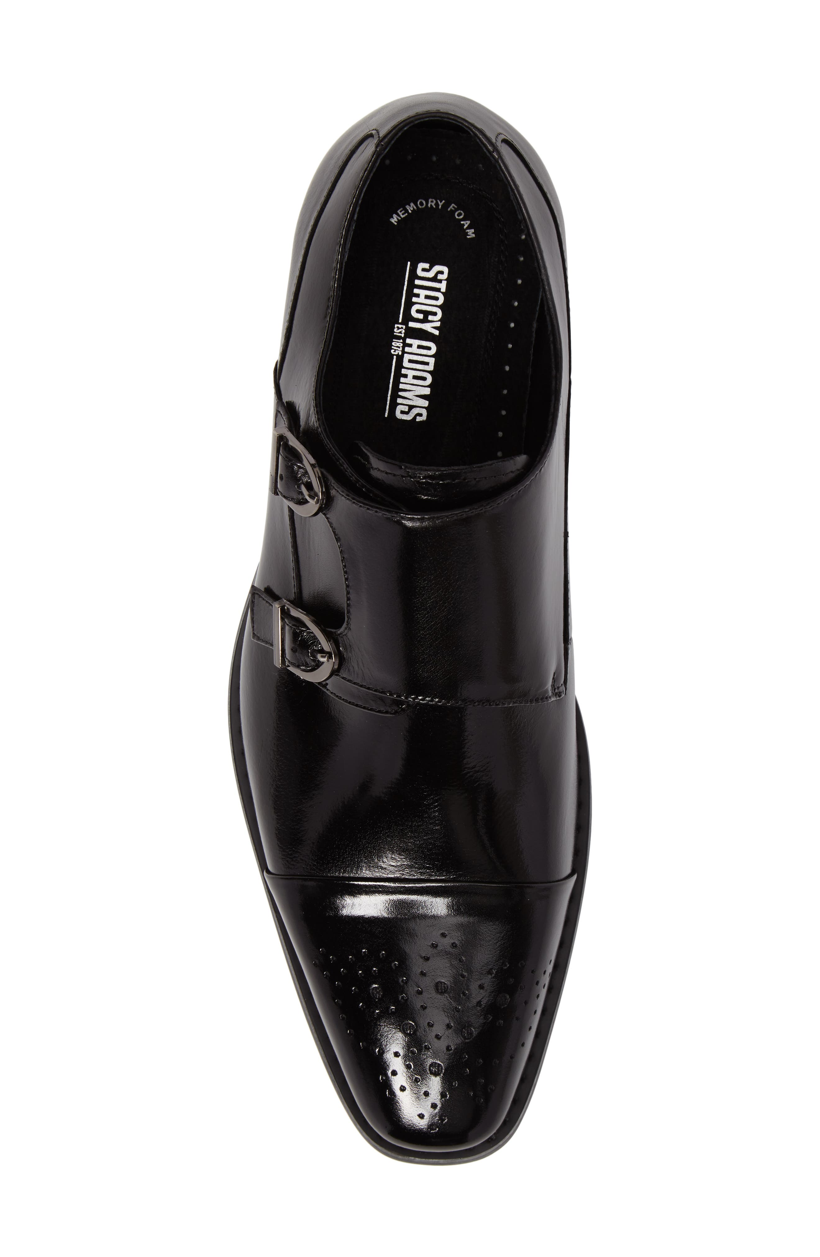 Alternate Image 5  - Stacy Adams Trevor Double Monk Strap Shoe (Men)