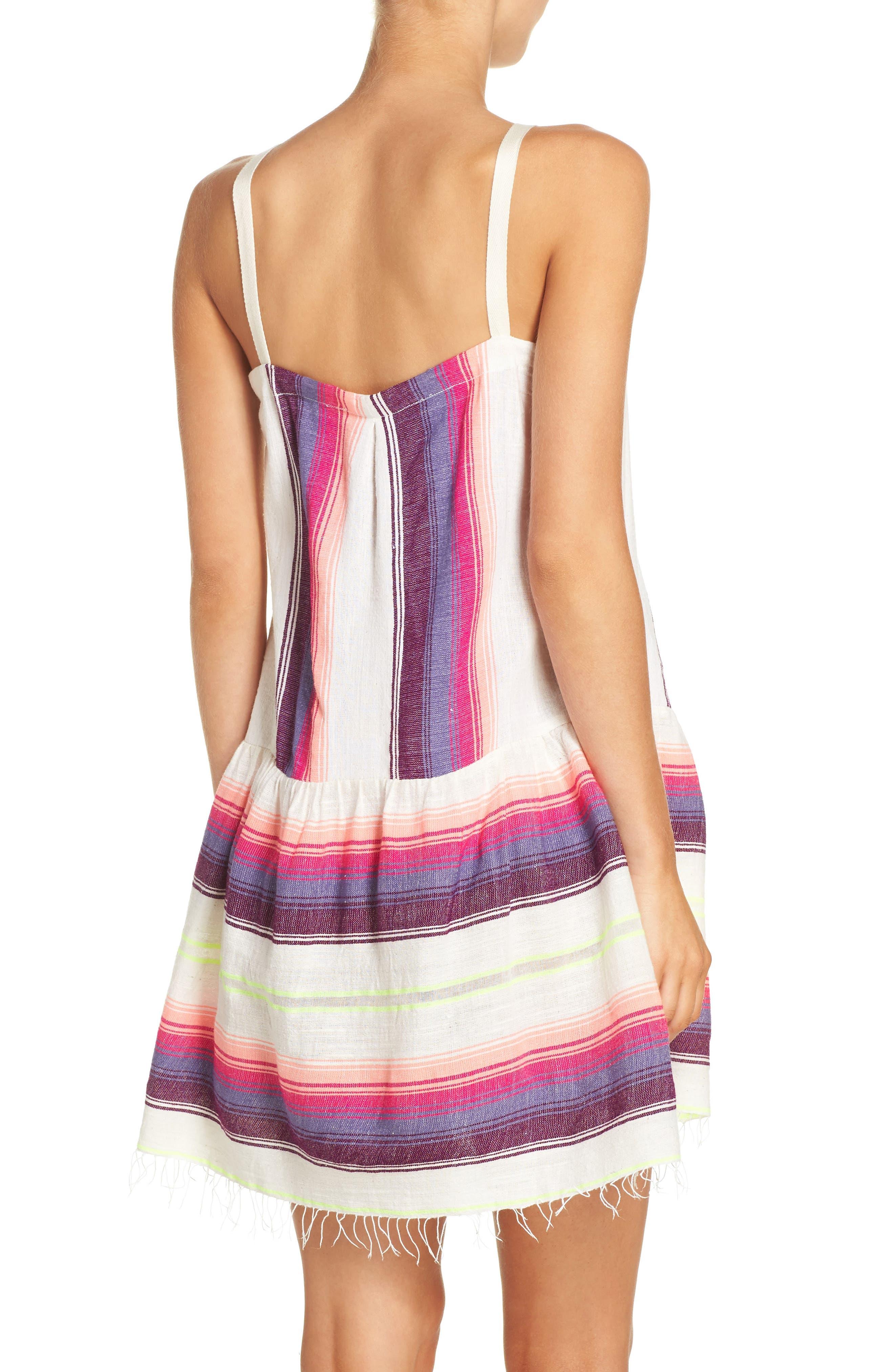 Alternate Image 2  - lemlem Stripe Cover-Up Dress