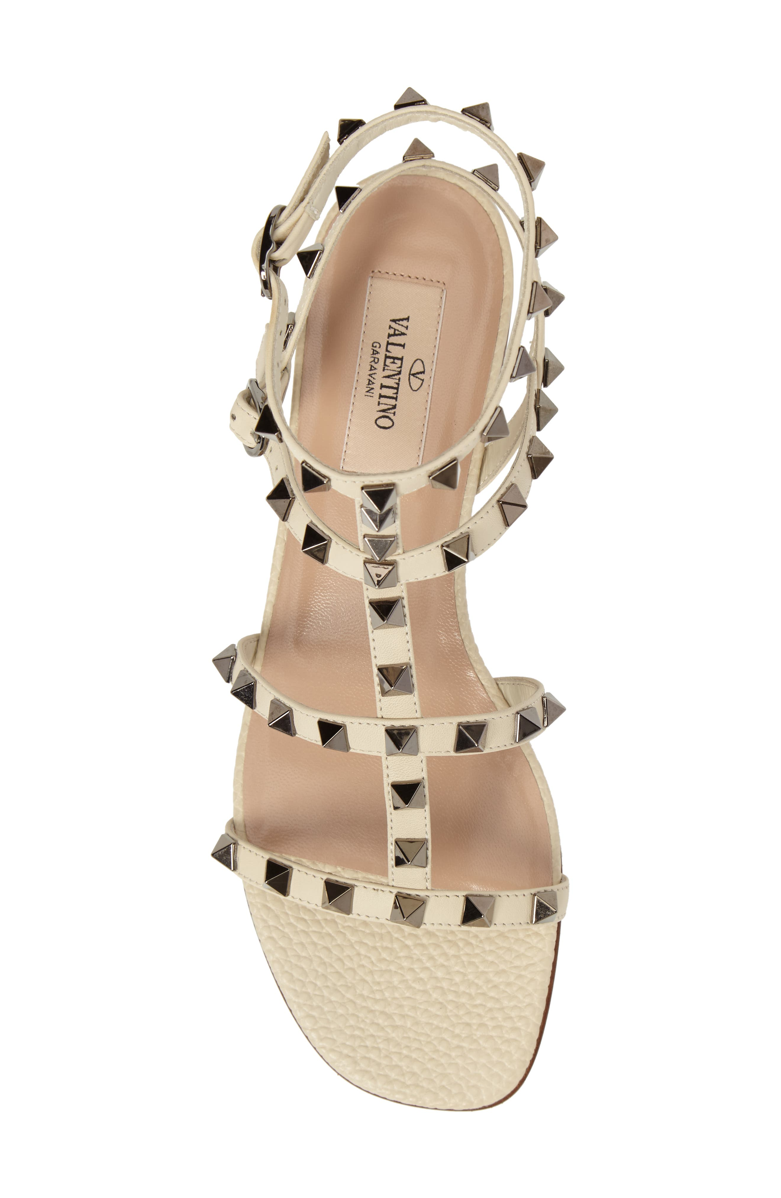 Alternate Image 5  - Valentino Rockstud Gladiator Sandal (Women)