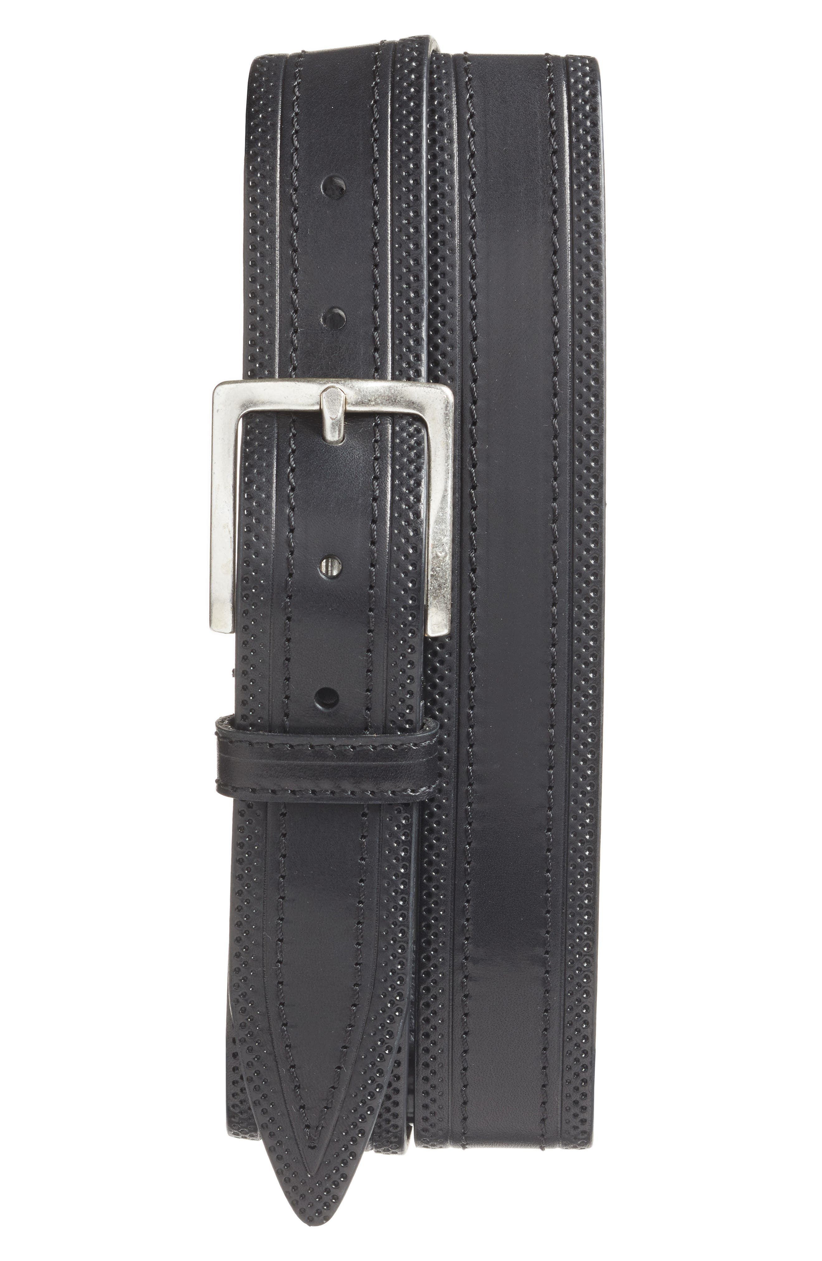 Martin Dingman Walton Leather Belt