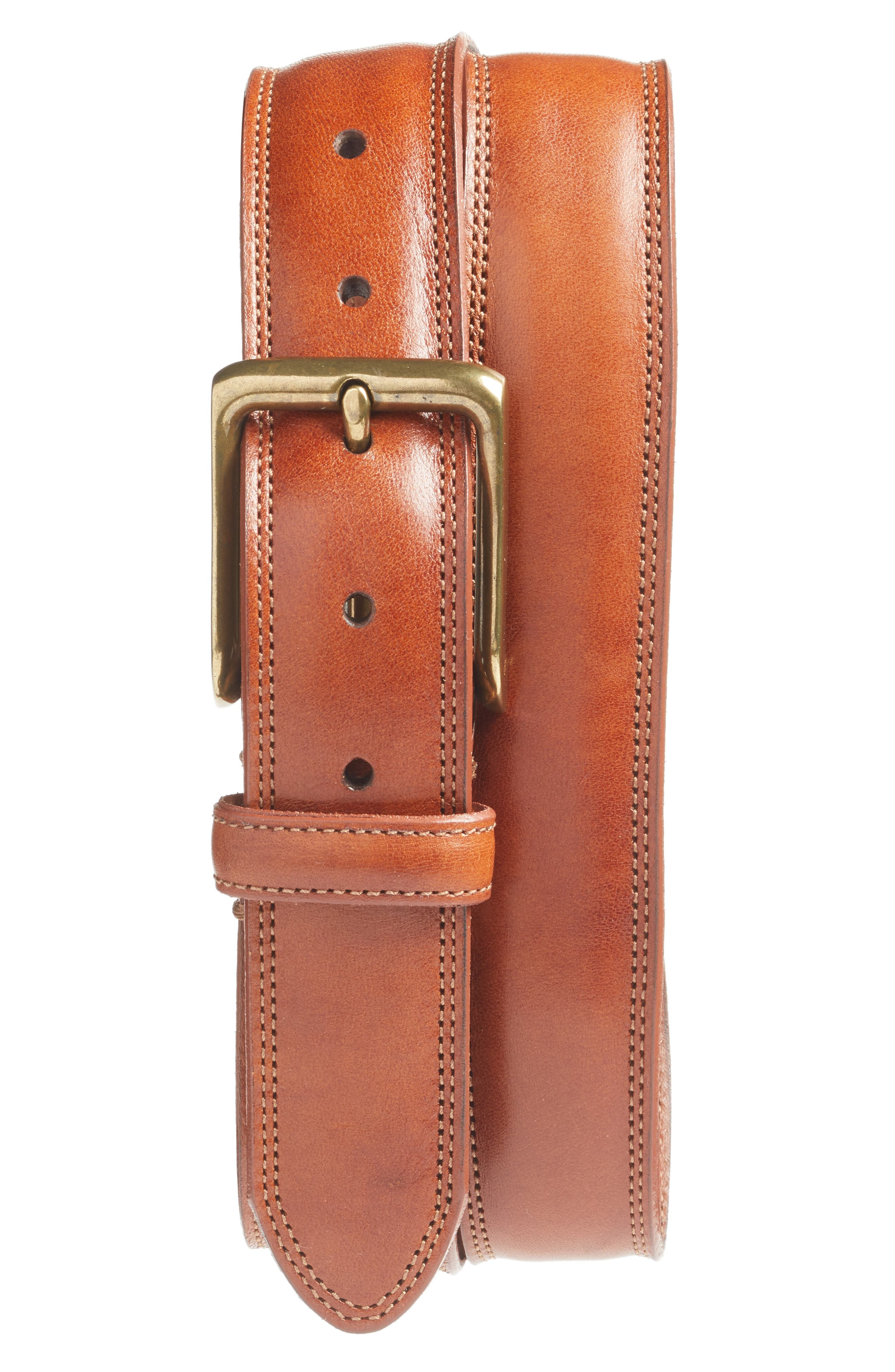 BOSCA The Jefferson Leather Belt