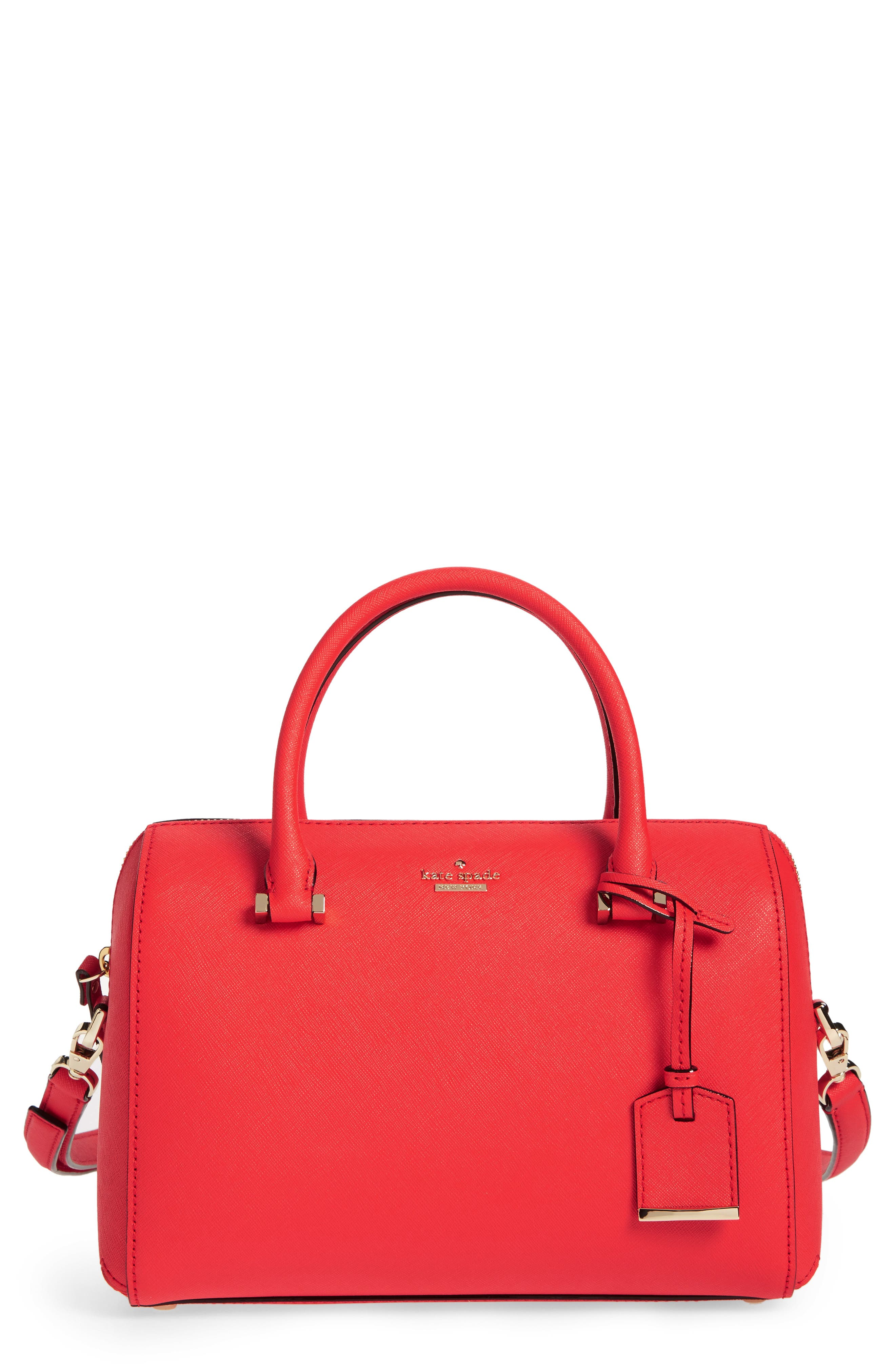 Alternate Image 1 Selected - kate spade new york cameron street large lane leather satchel