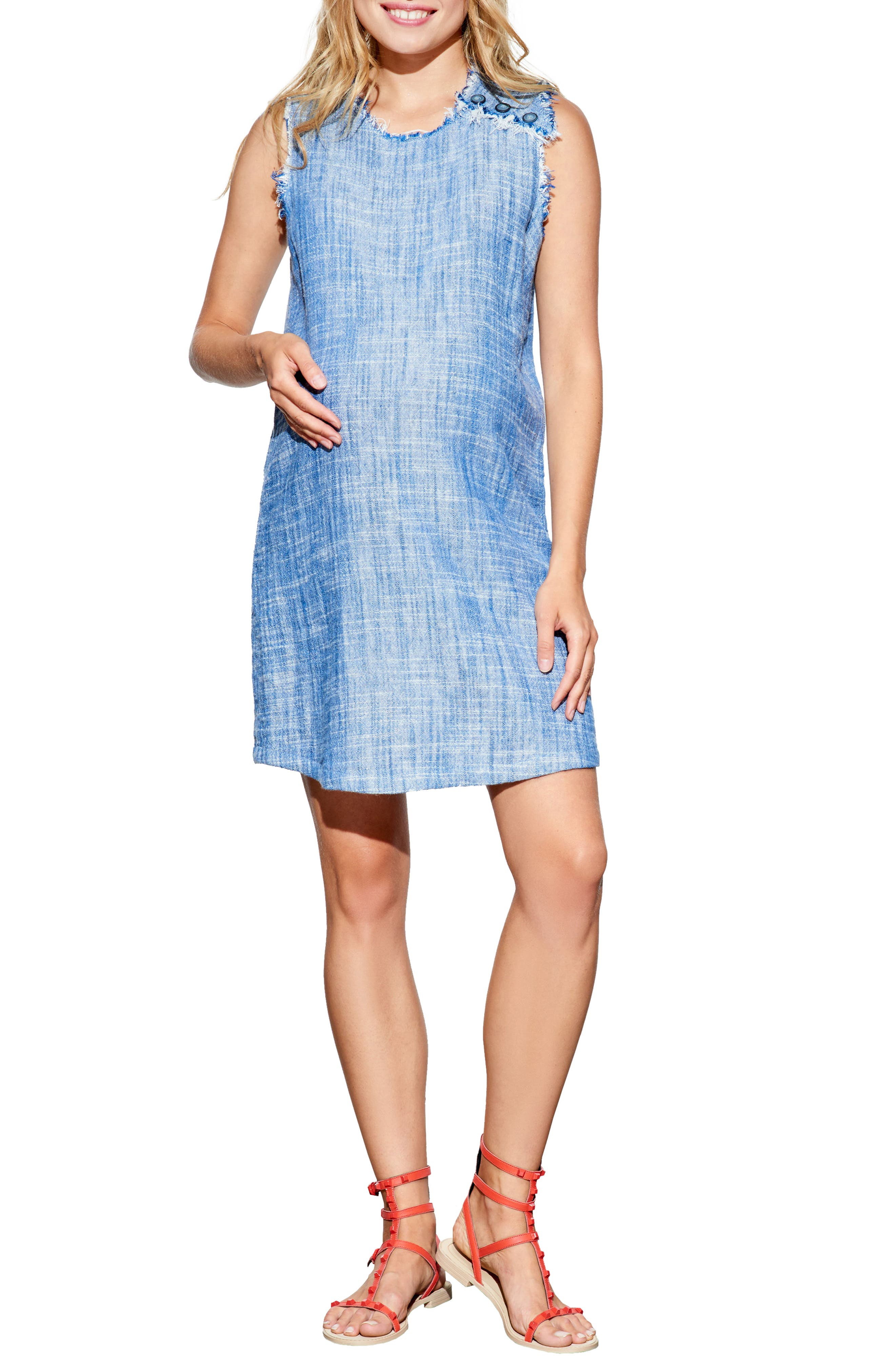 Alternate Image 1 Selected - Maternal America Sleeveless Maternity Dress