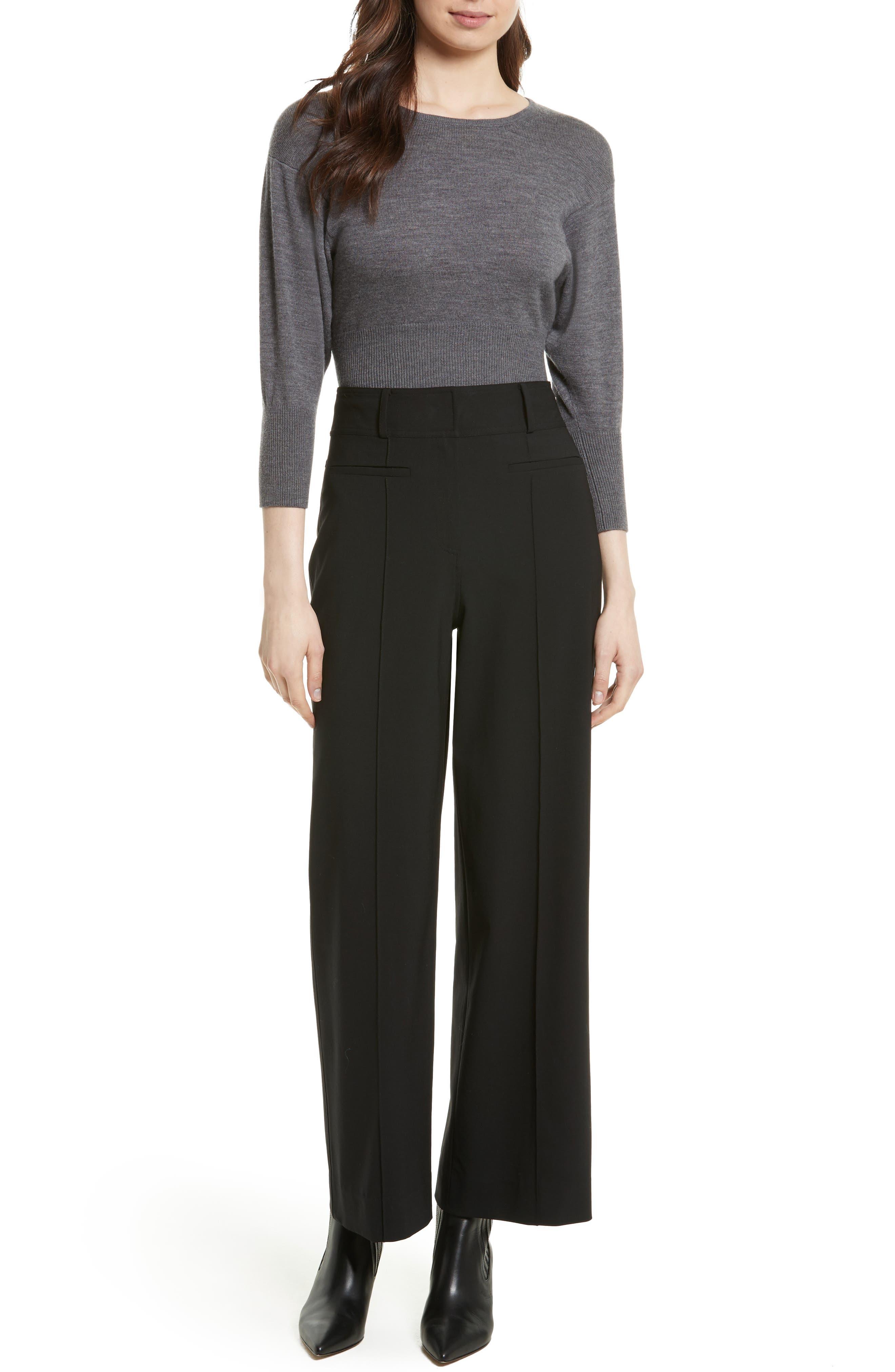 Alternate Image 2  - Diane von Furstenberg Merino Crop Sweater