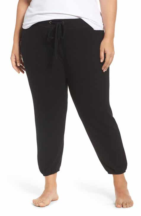 Make + Model Good Vibes Jogger Pants (Plus Size) by MAKE AND MODEL