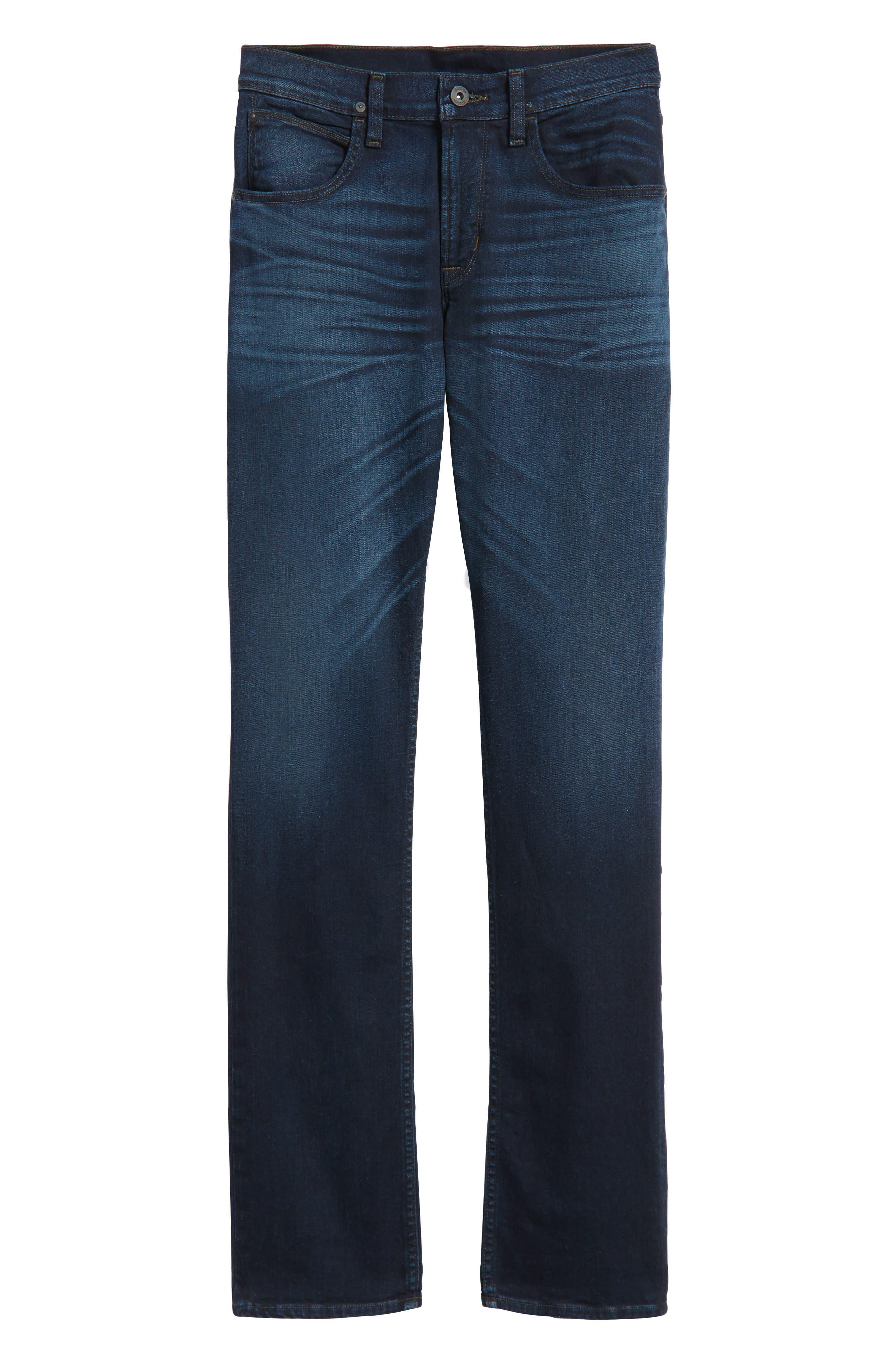 Alternate Image 6  - Hudson Jeans Byron Slim Straight Leg Jeans (Streetwise)