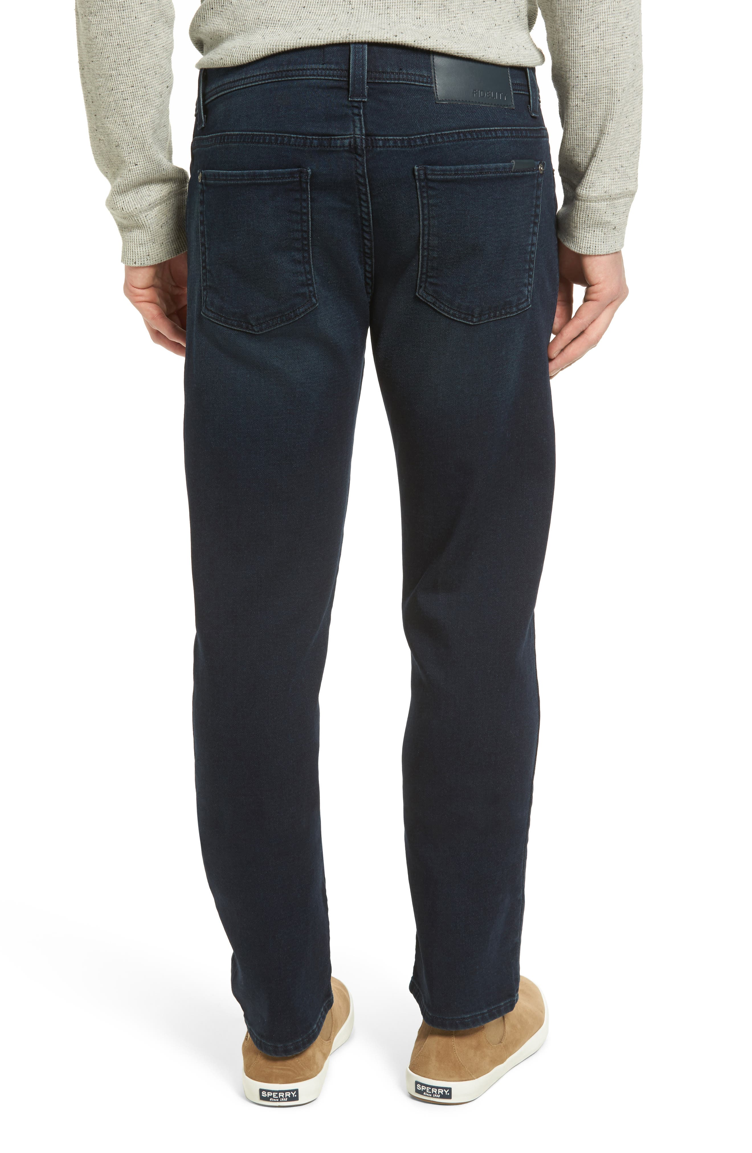 Jimmy Slim Straight Leg Jeans,                             Alternate thumbnail 2, color,                             Oxy Midnight