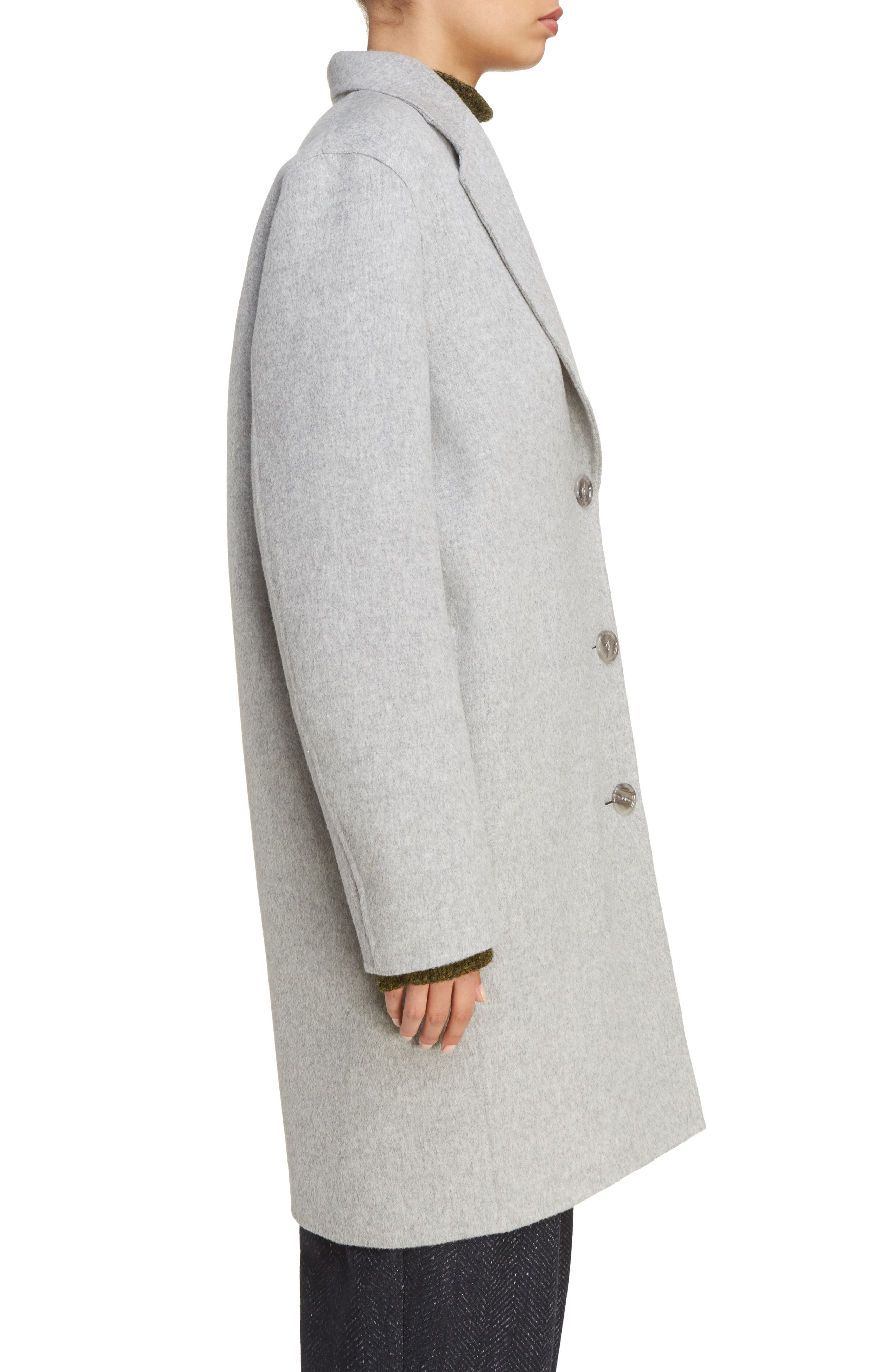 Alternate Image 4  - ACNE Studios Landi Double Crombie Coat