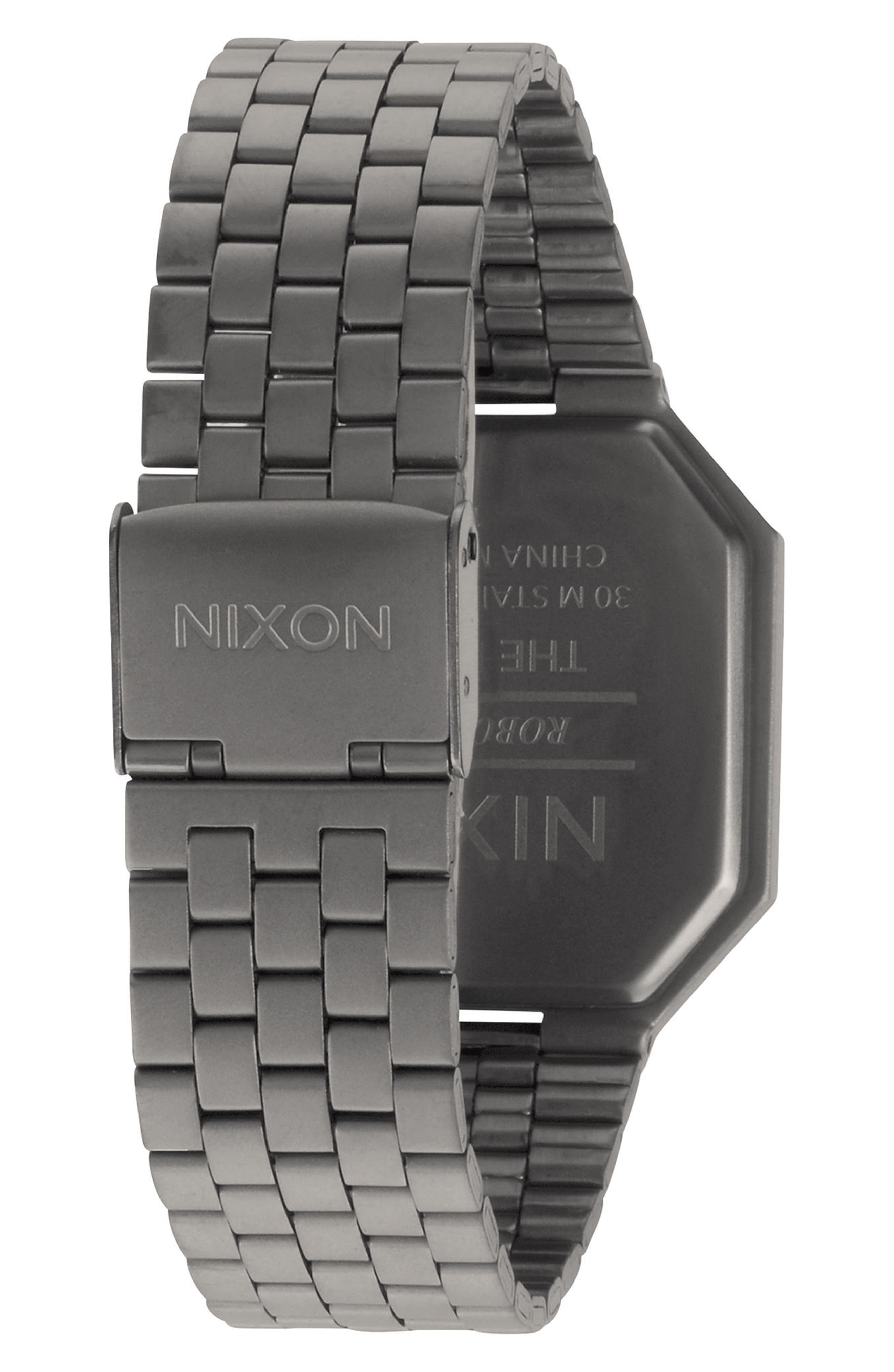 Alternate Image 2  - Nixon Rerun Digital Bracelet Watch, 39mm