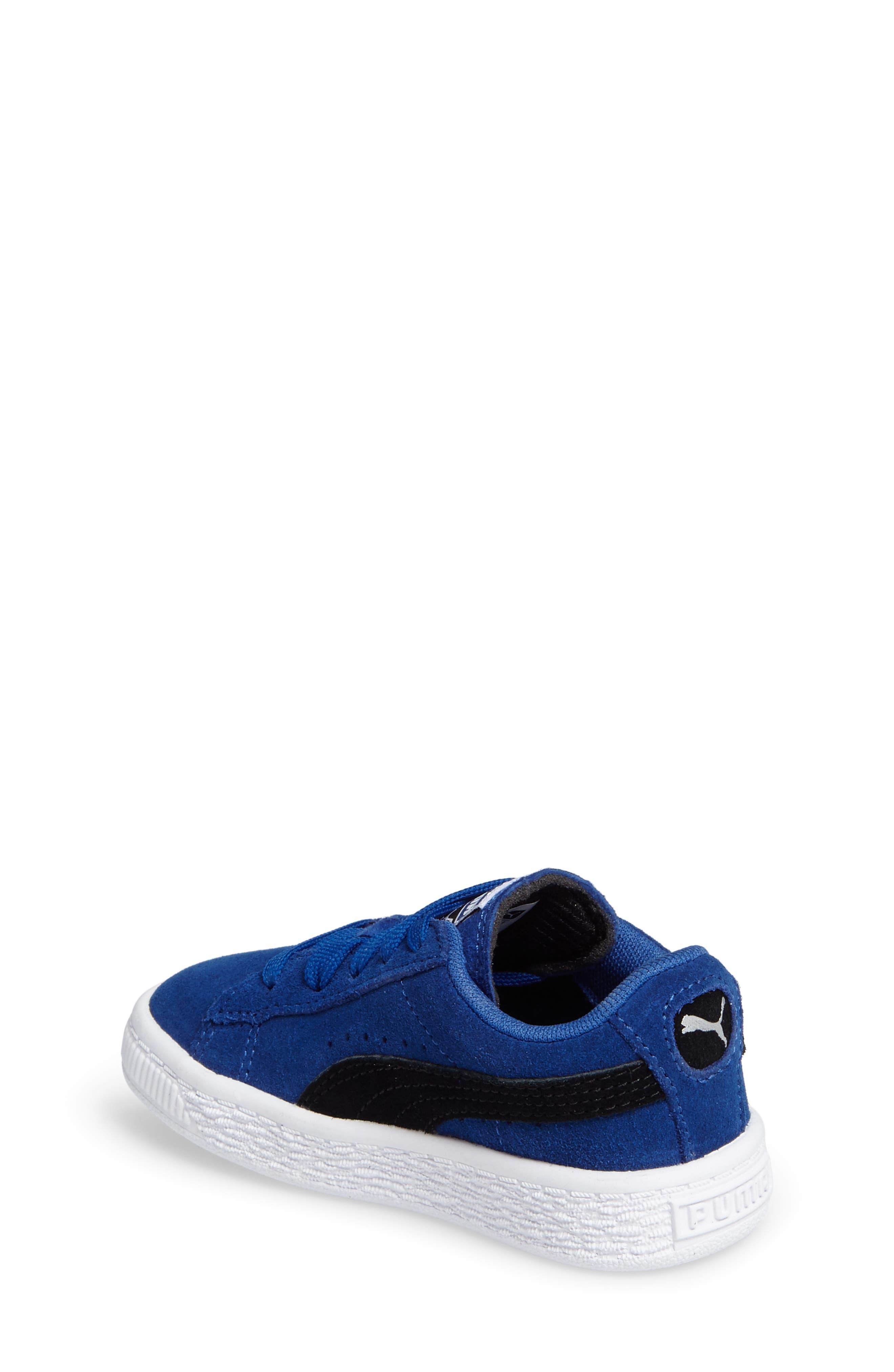 'Suede'Sneaker,                             Alternate thumbnail 2, color,                             Blue/ Black