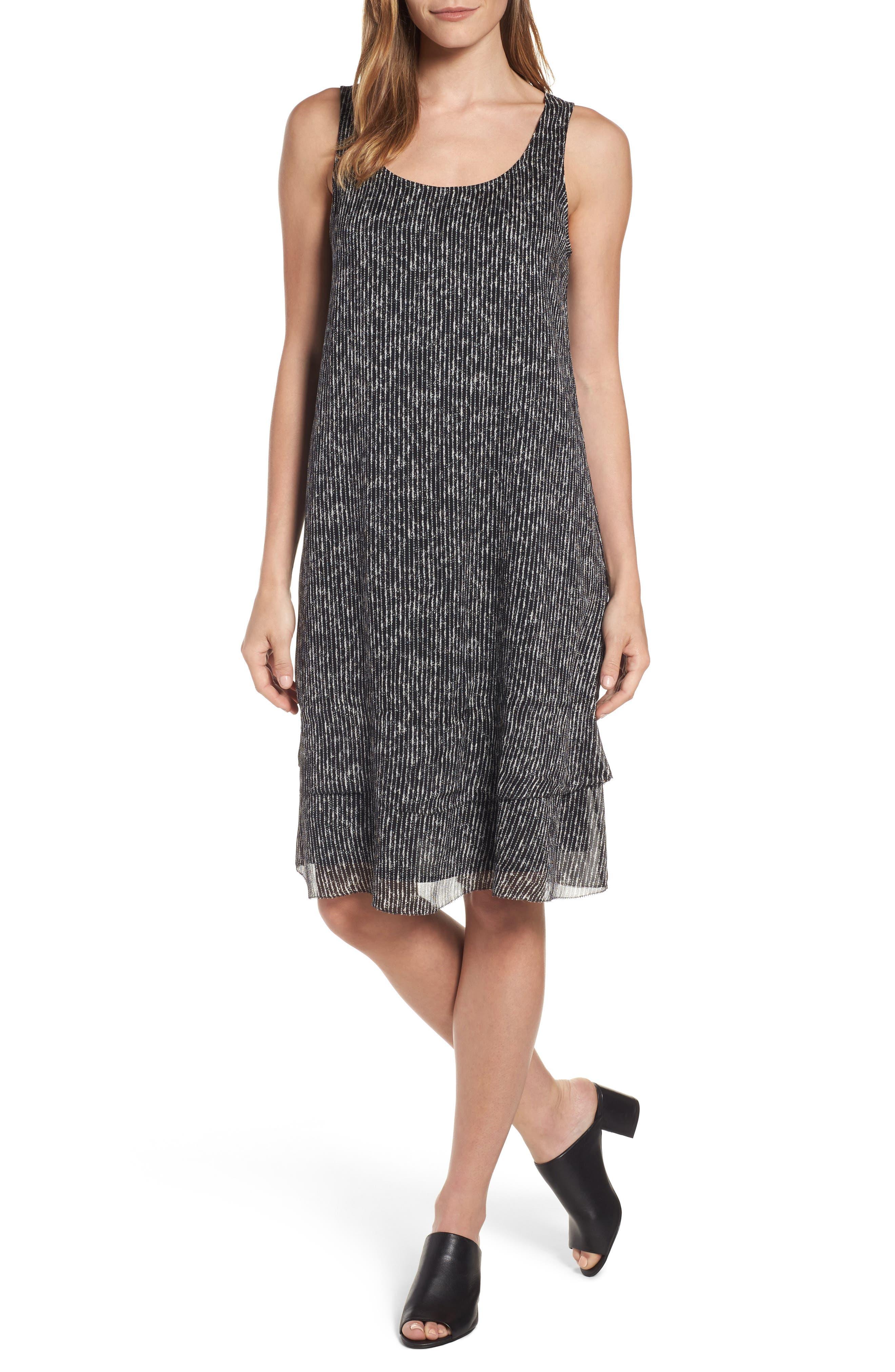 Eileen Fisher Silk Tank Dress