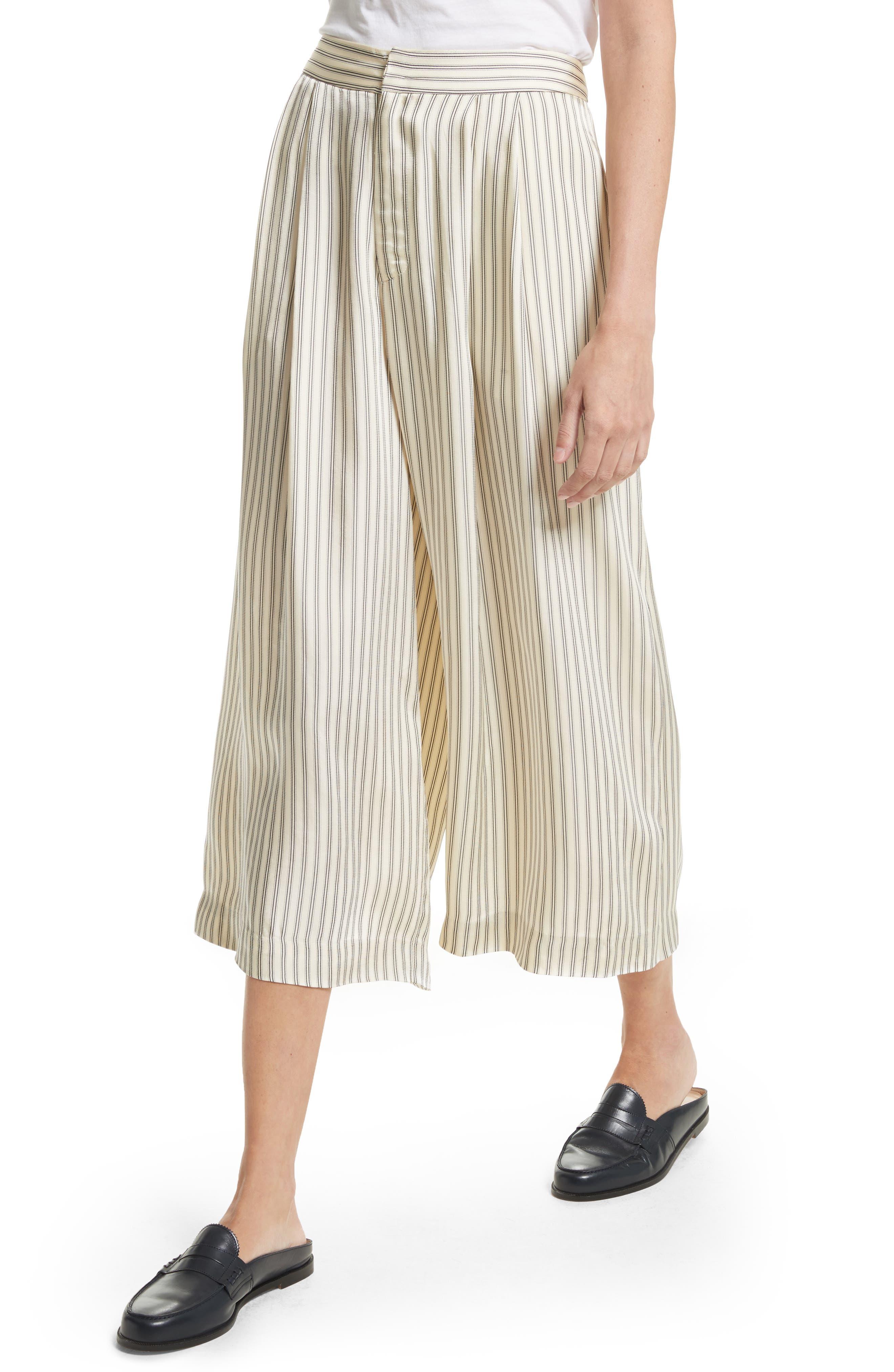 Alternate Image 5  - Sea Stripe Culottes