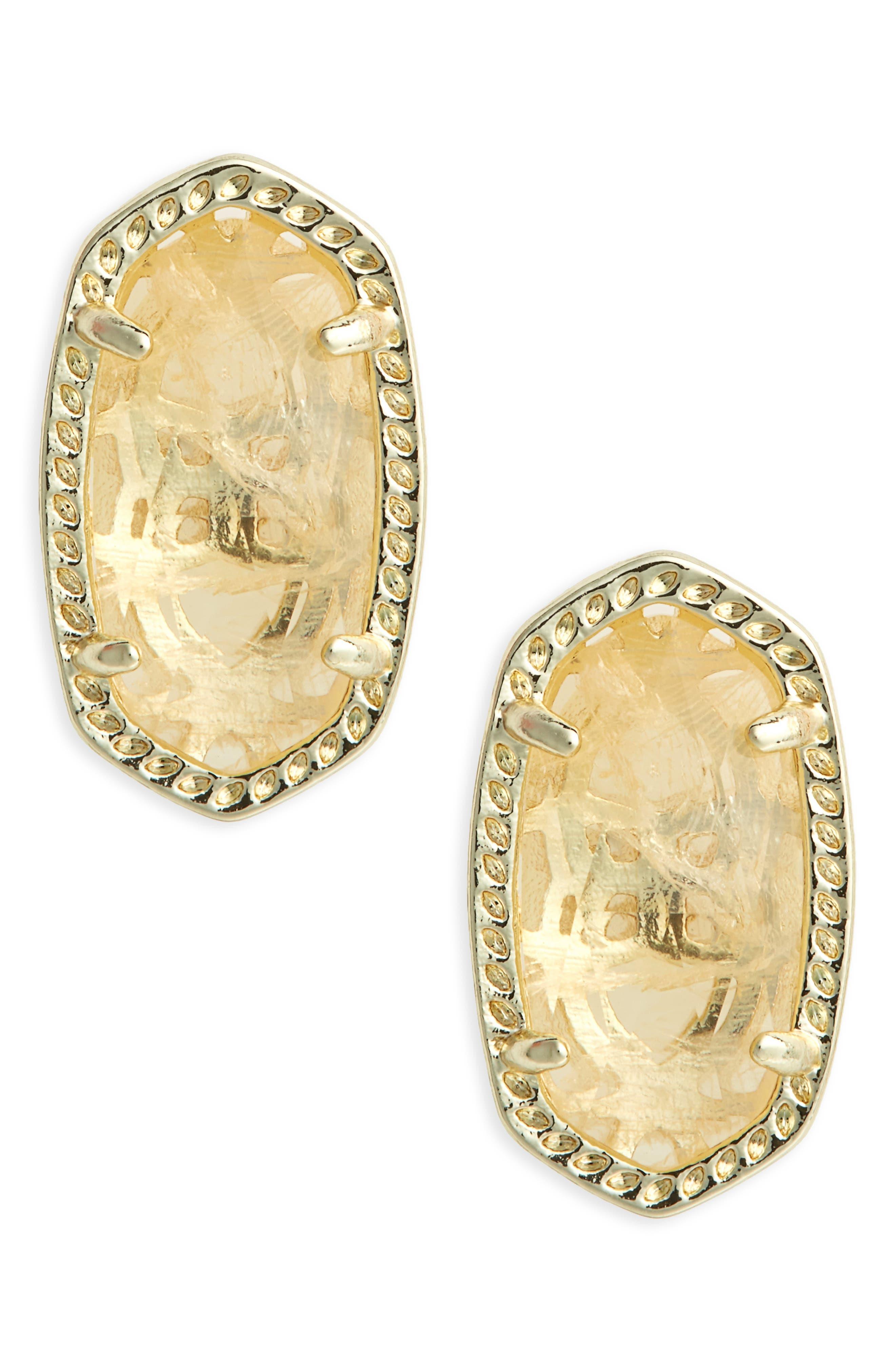Kendra Scott Ellie Birthstone Stud Earrings