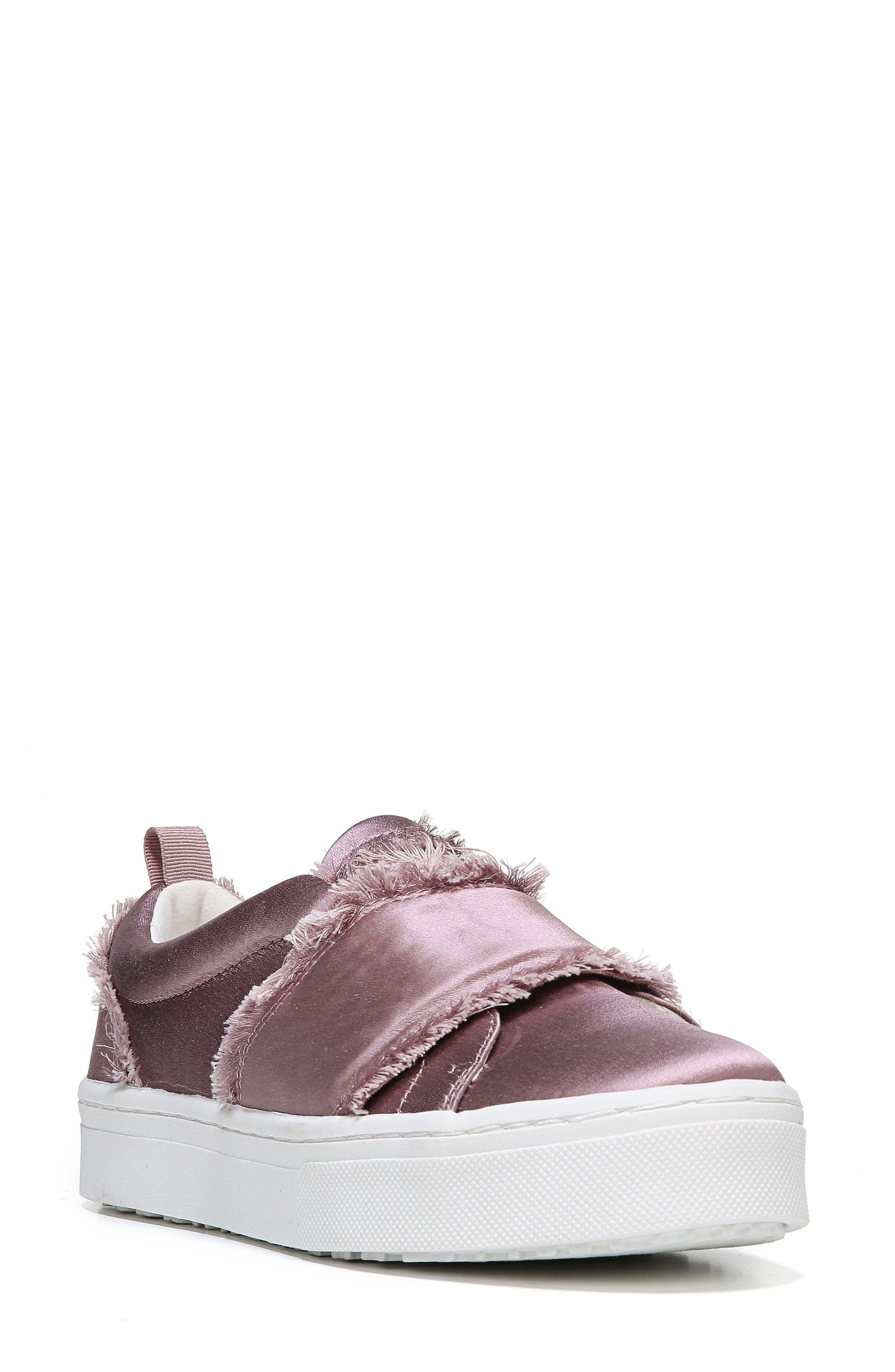 SAM EDELMAN Levine Fringe Slip-On Platform Sneaker
