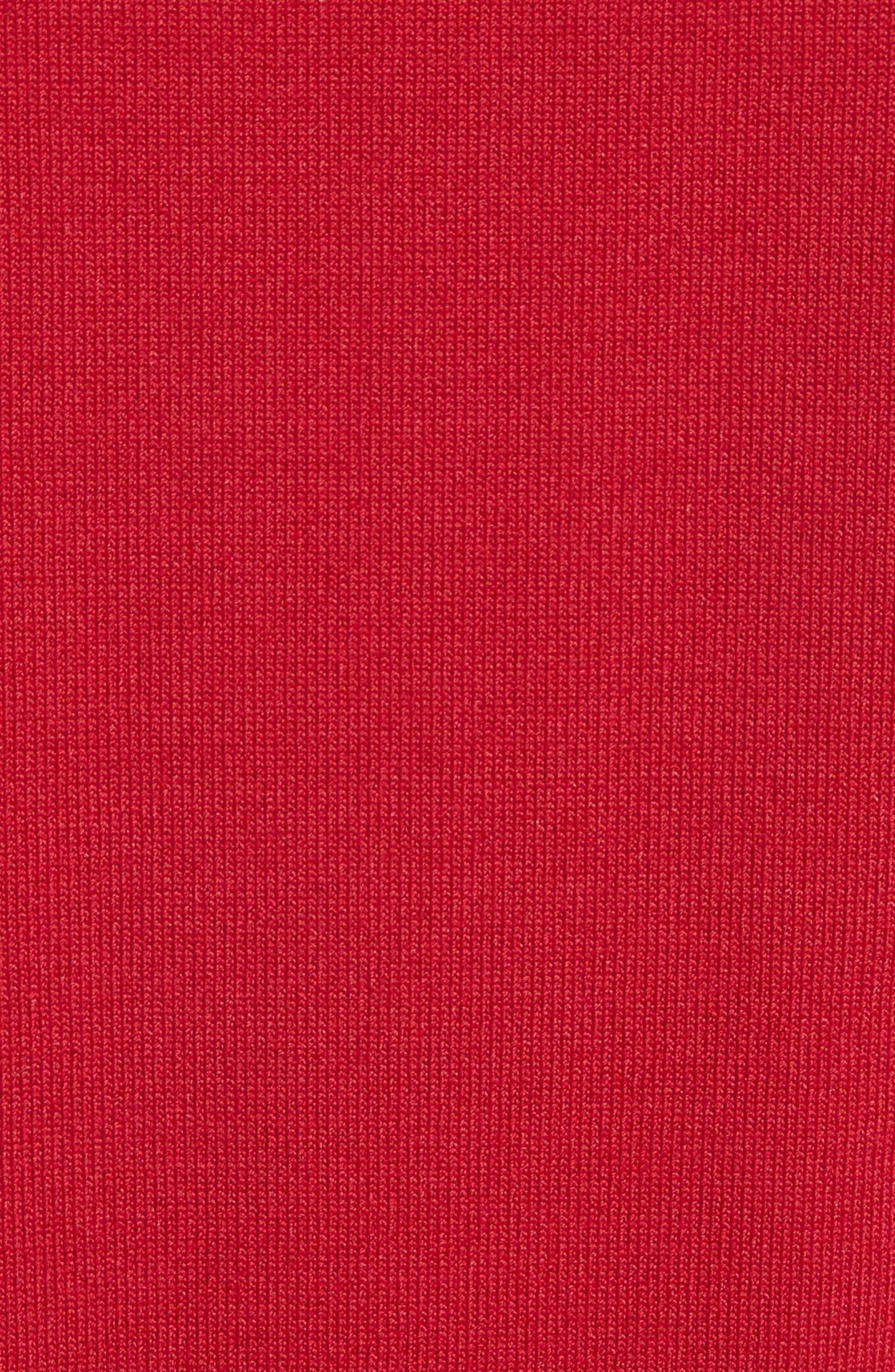 Alternate Image 5  - RED Valentino Bow Knit Dress
