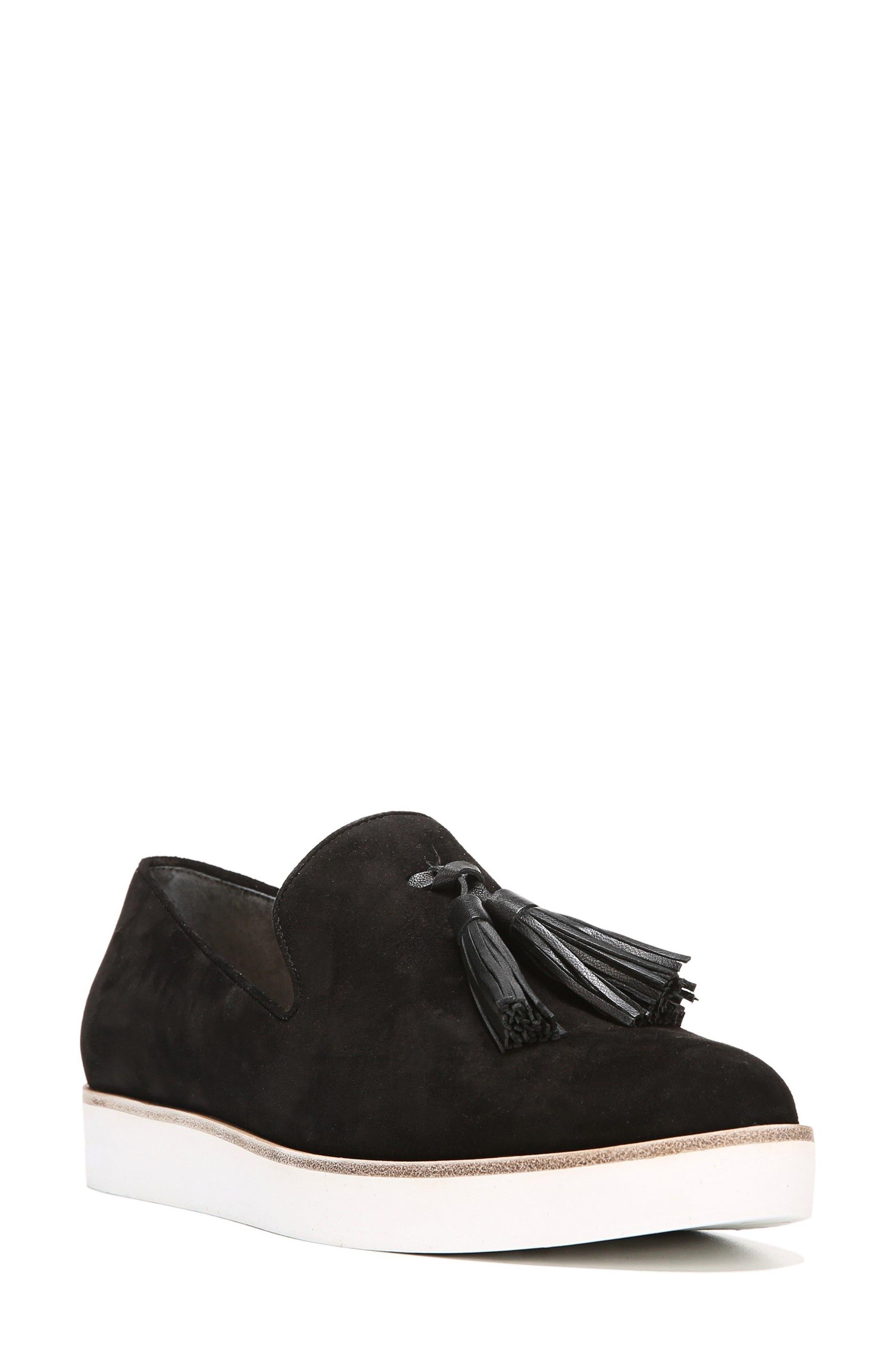 Toni Slip-On Sneaker,                             Main thumbnail 1, color,                             Black Suede