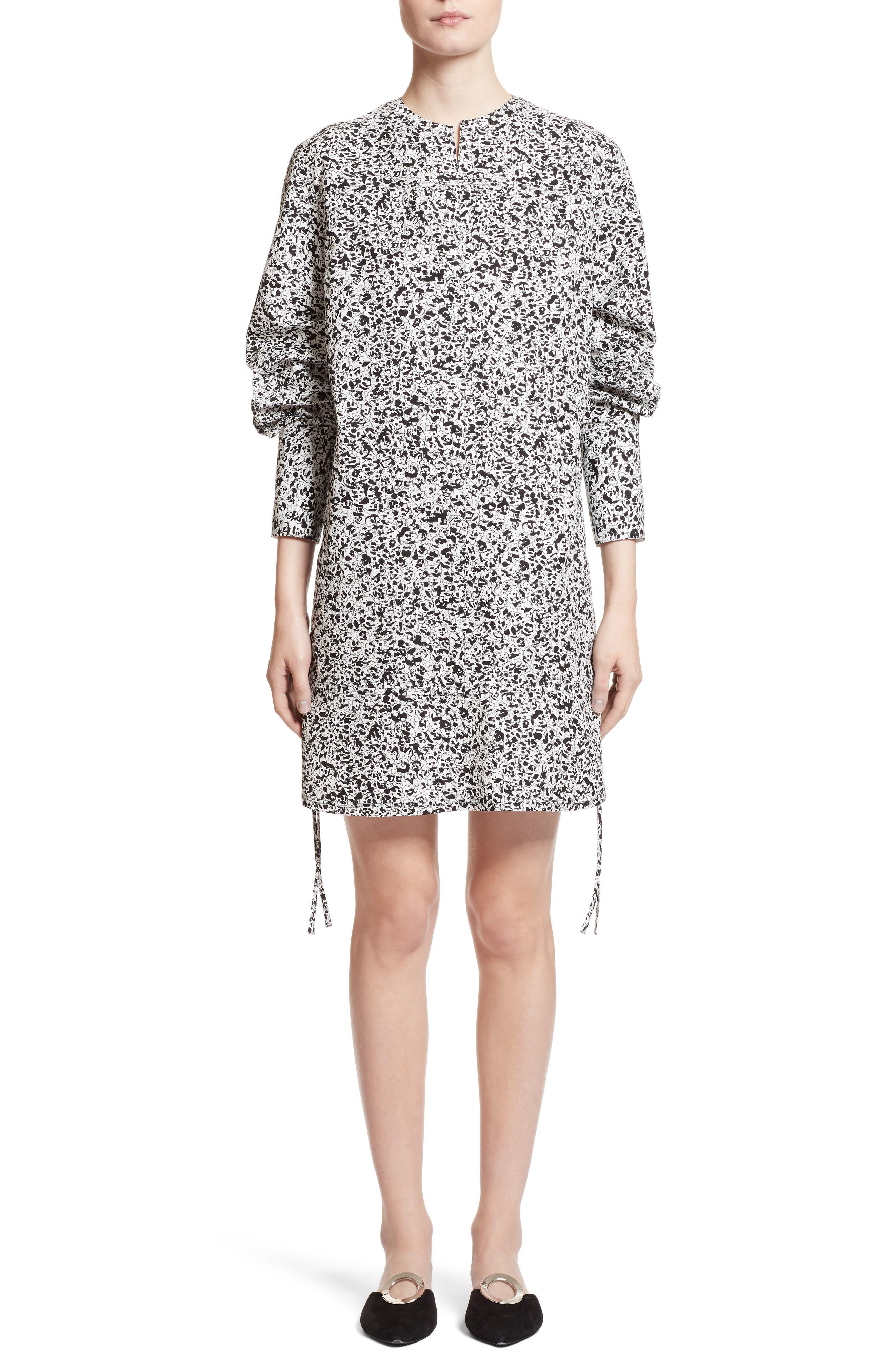 Proenza Schouler Print Poplin Shift Dress