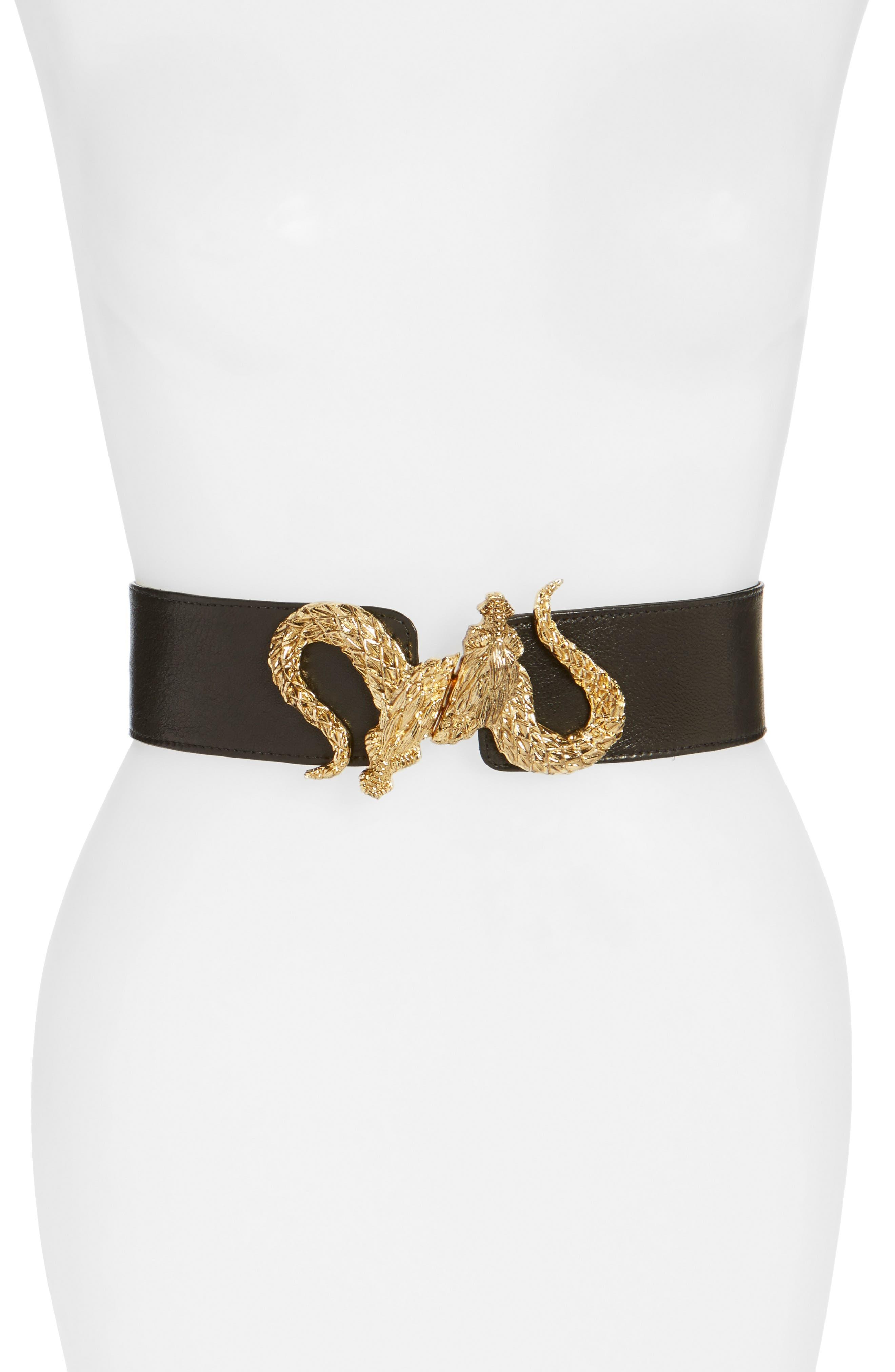 Main Image - Raina 'Penelope - Dragon' Stretch Belt