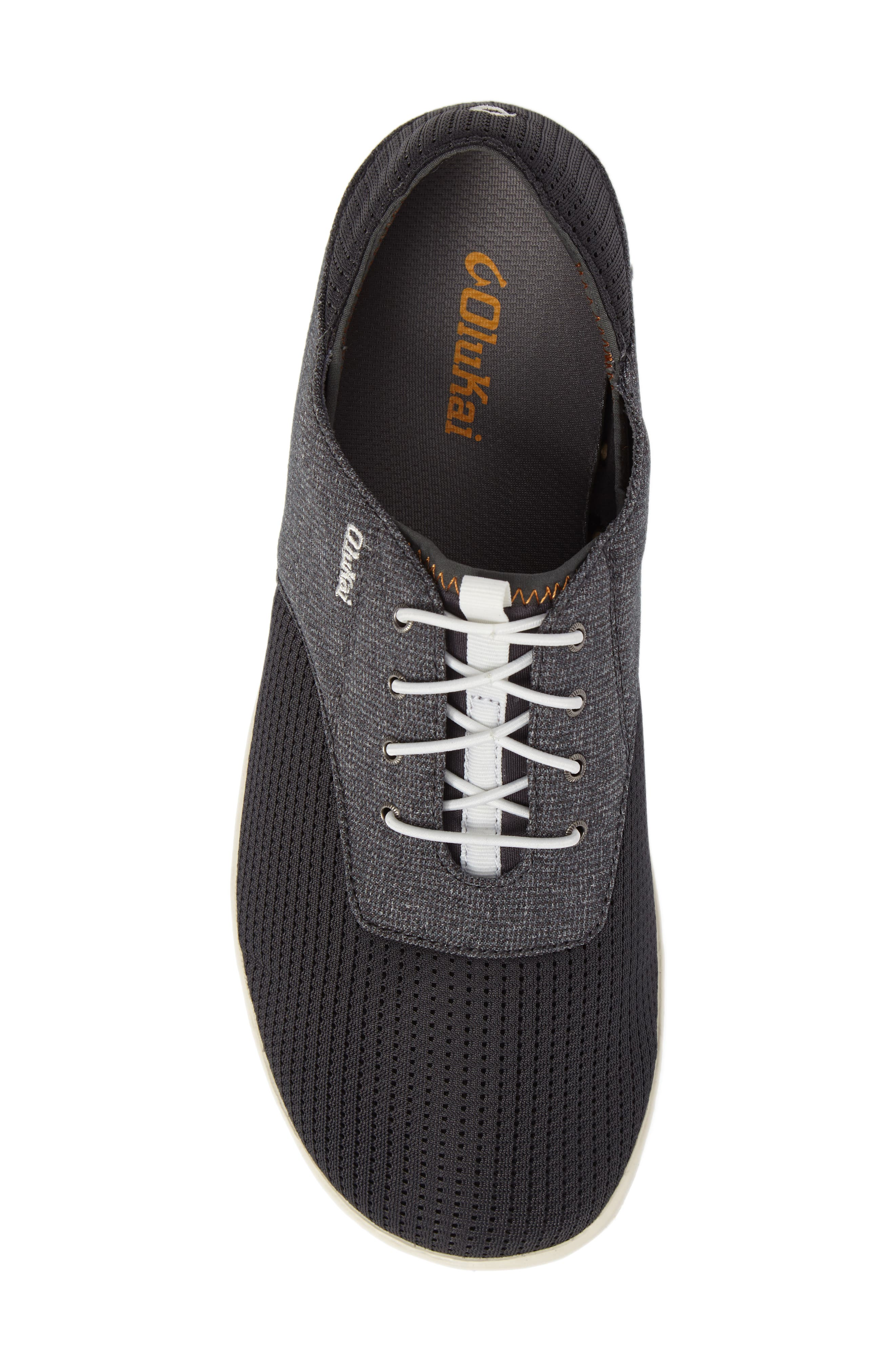 'Nohea Moku' Sneaker,                             Alternate thumbnail 5, color,                             Dark Shadow/ Dark Shadow