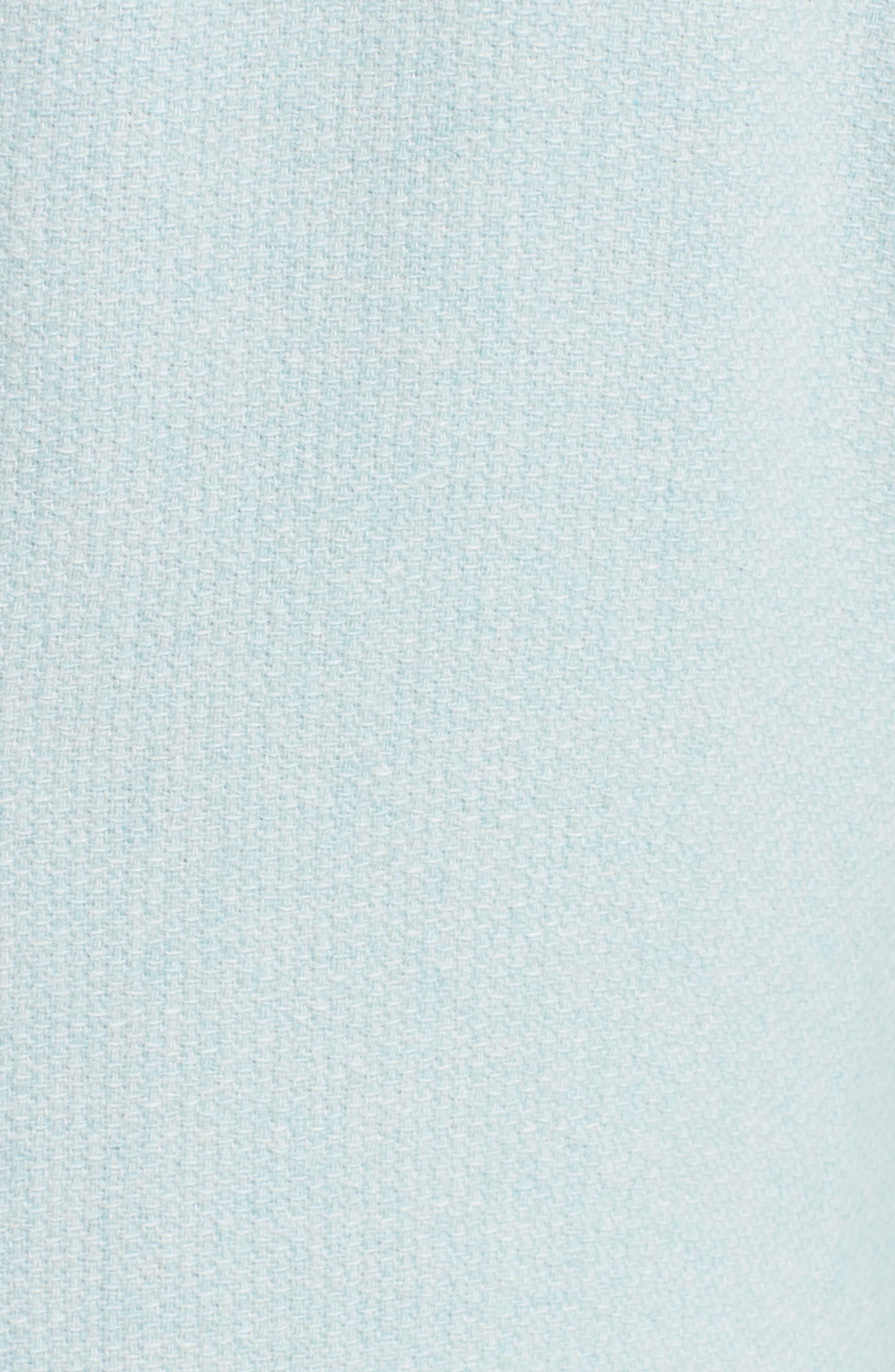 Pola Cashmere Jacket,                             Alternate thumbnail 3, color,                             Water
