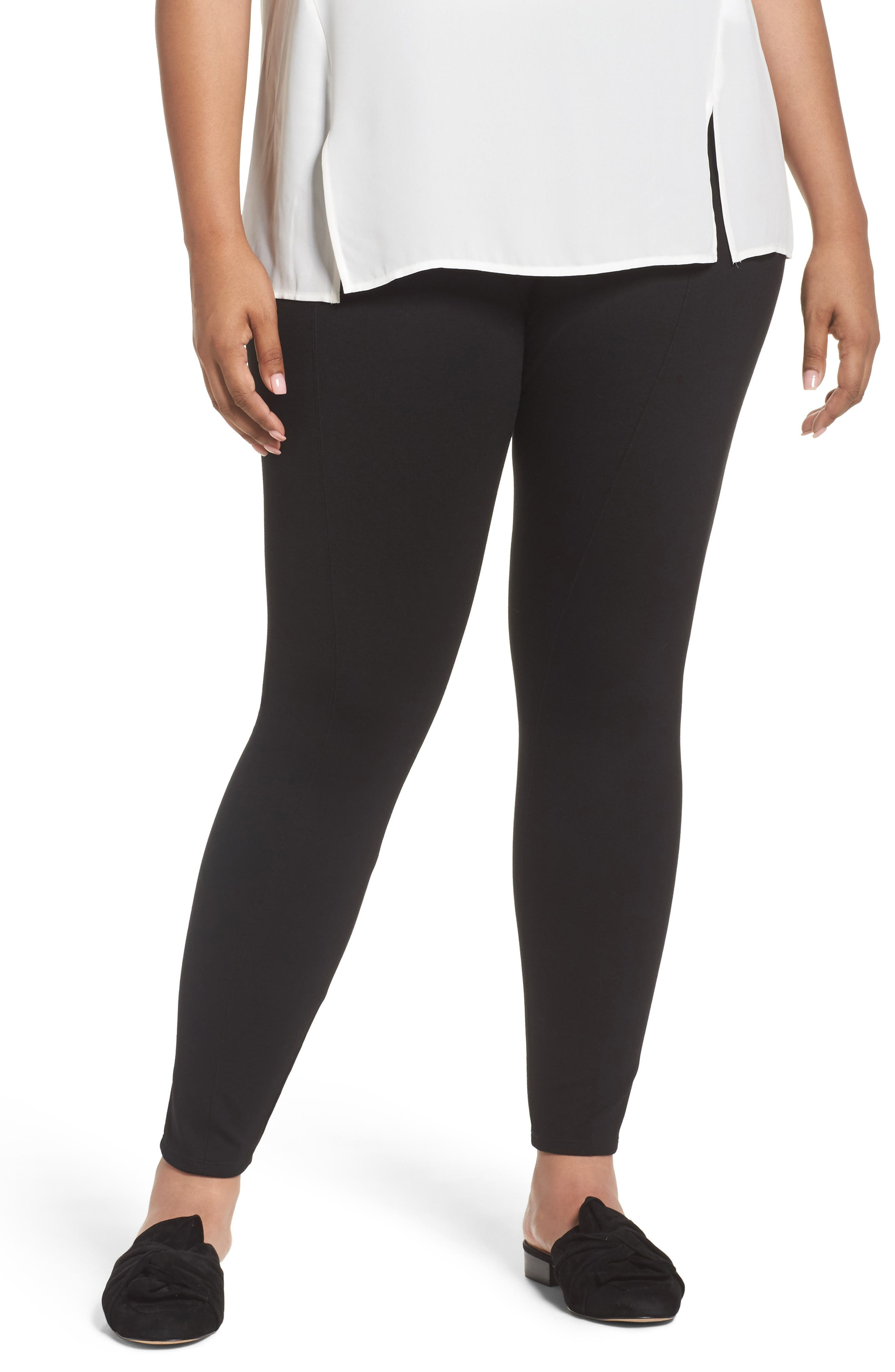Lyssé High Waist Seamed Leggings (Plus Size)
