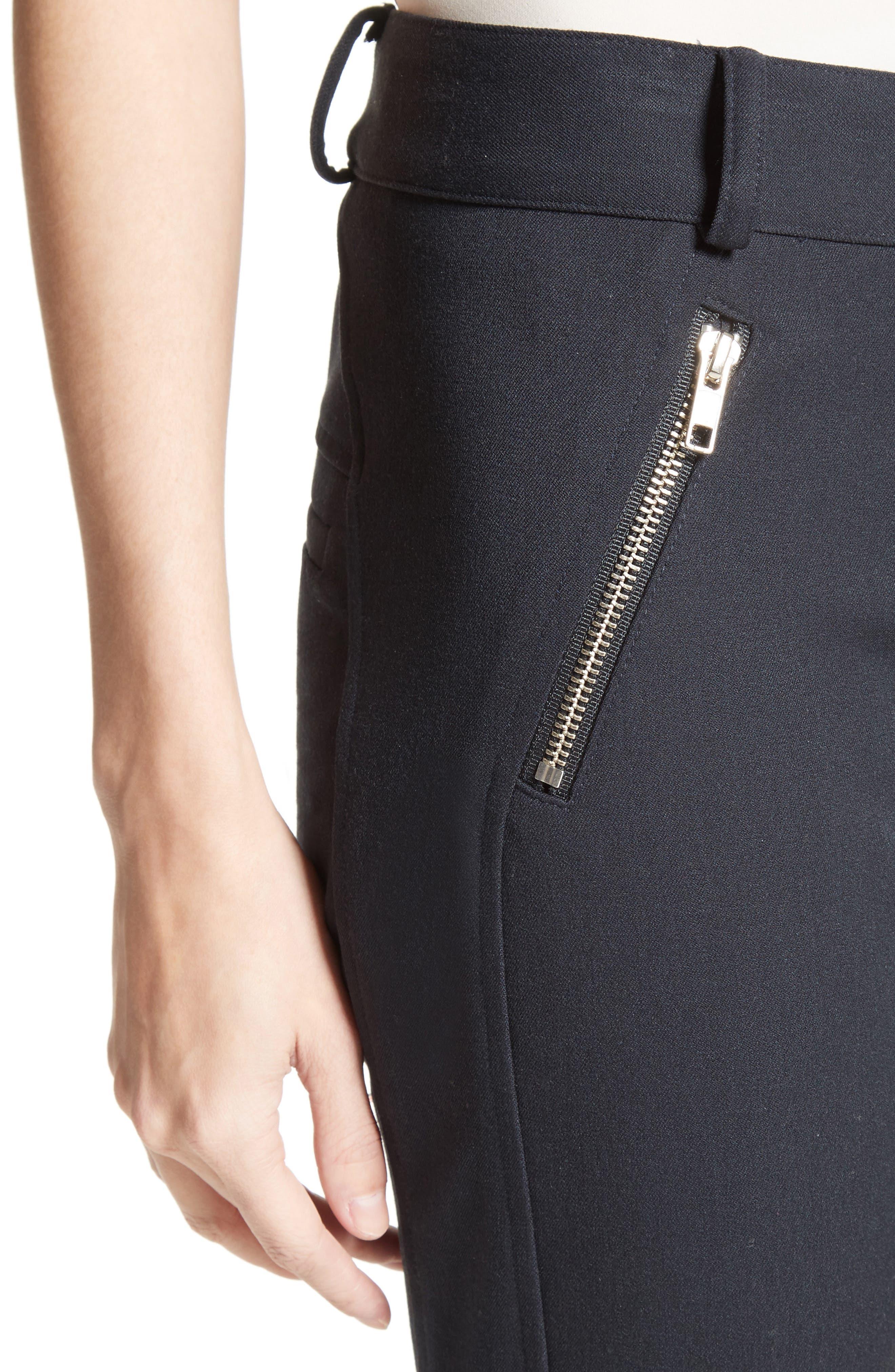 Alternate Image 4  - Veronica Beard Ash Seamed Skinny Pants