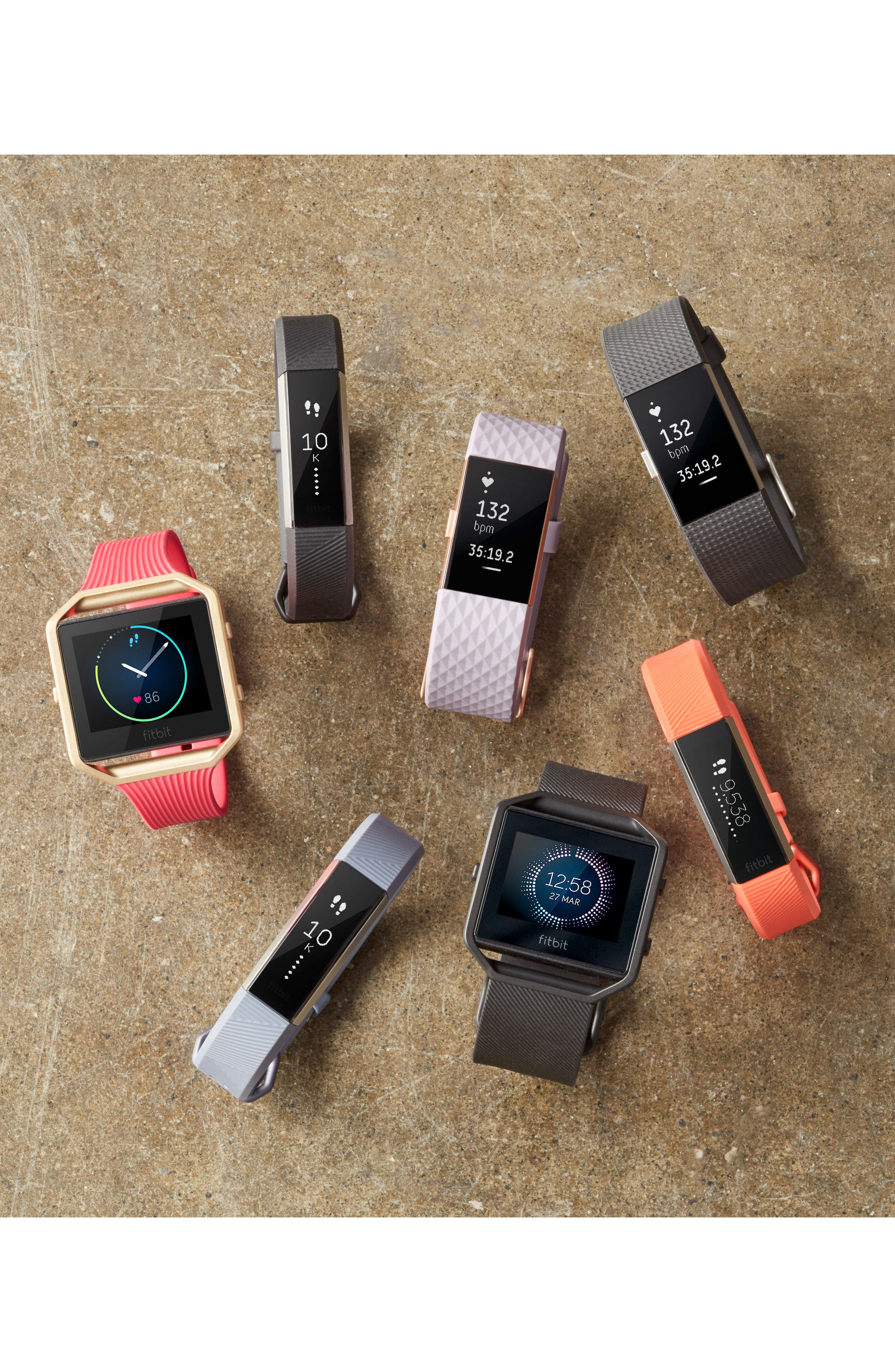 Alternate Image 8  - Fitbit Alta HR Wireless Heart Rate and Fitness Tracker