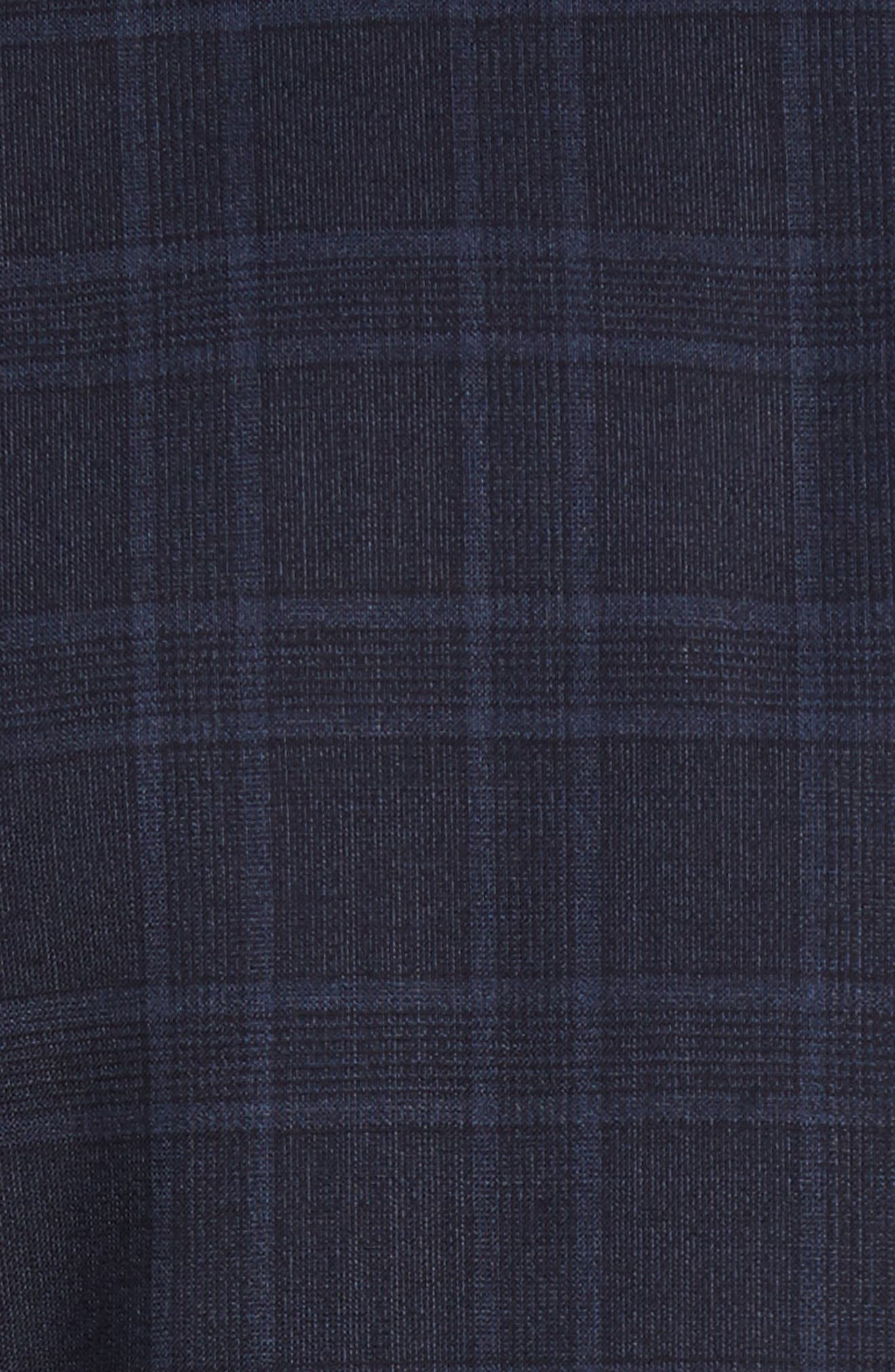 Alternate Image 7  - Ted Baker London Jay Trim Fit Plaid Wool Suit