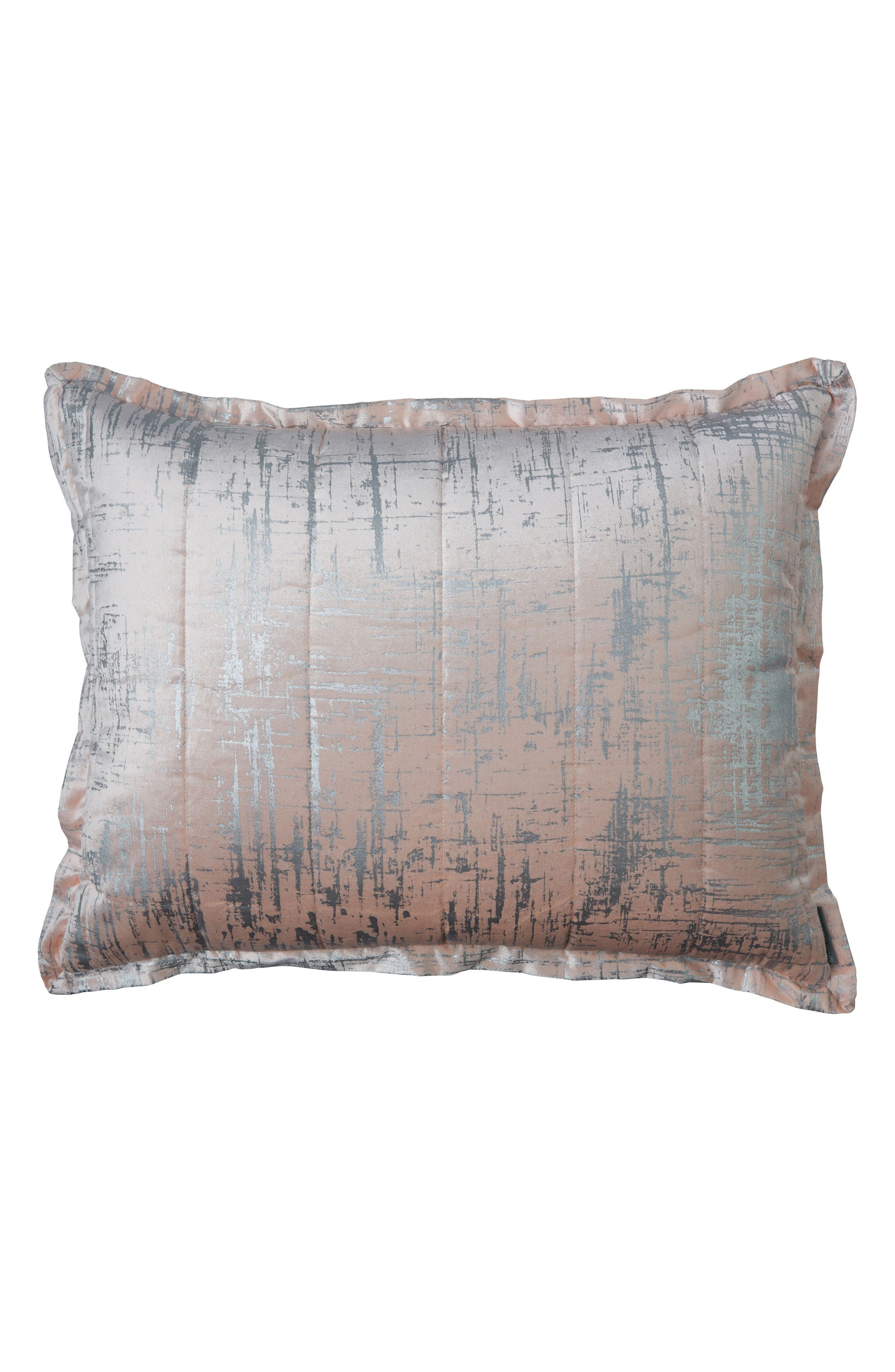 Moderne Sham,                         Main,                         color, Blush Silver