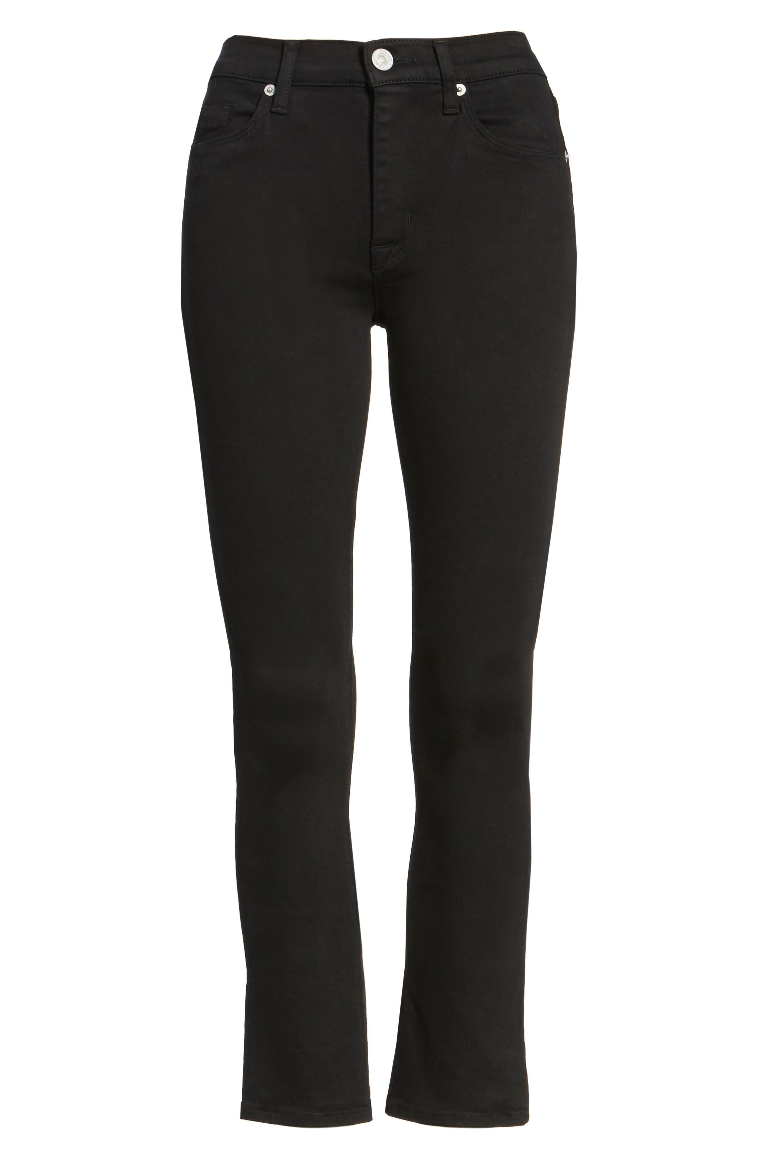 Alternate Image 6  - Hudson Jeans Harper High Rise Crop Jeans