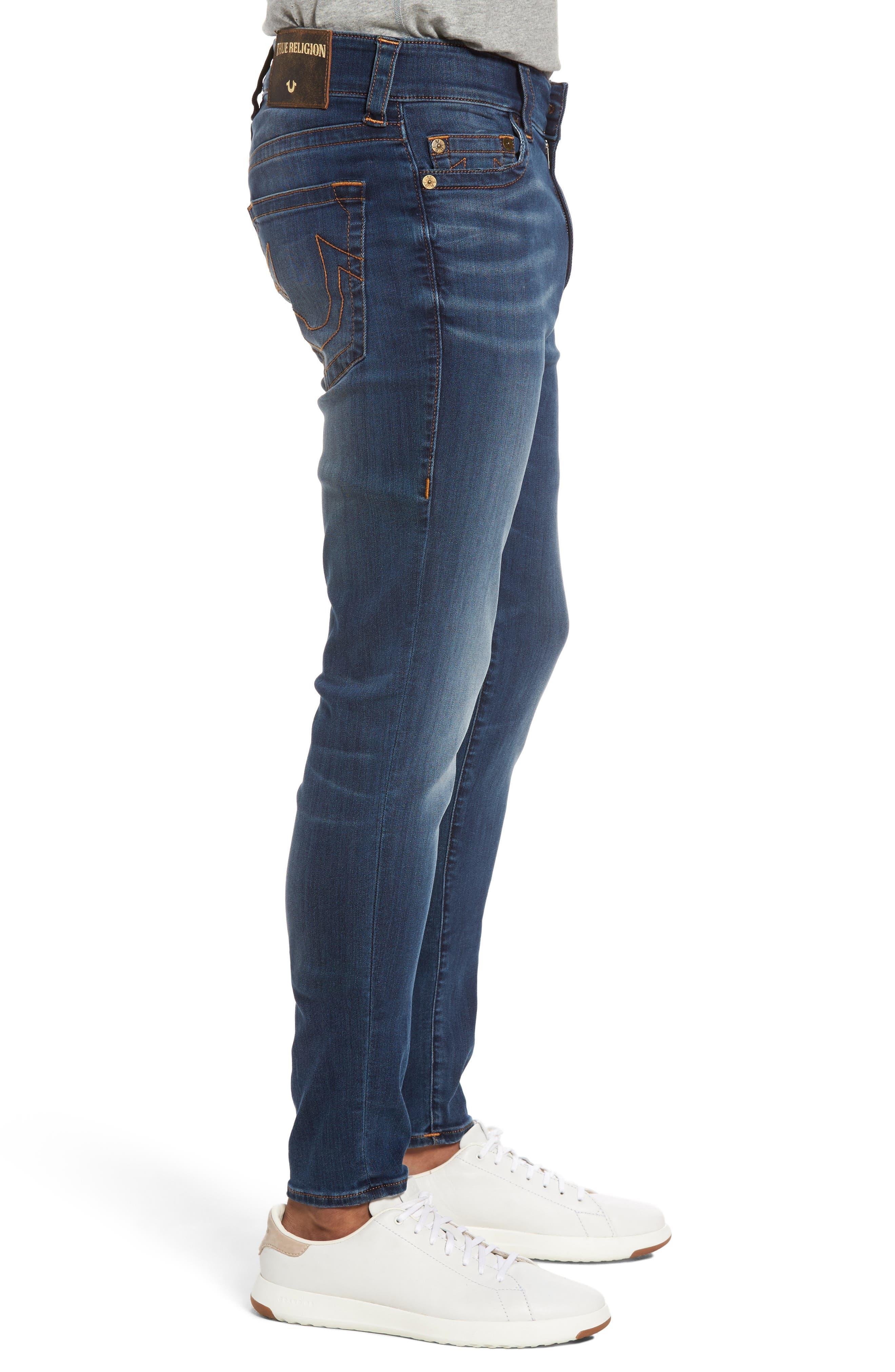 Alternate Image 3  - True Religion Brand Jeans Jack Skinny Fit Jeans (Desert Highway)