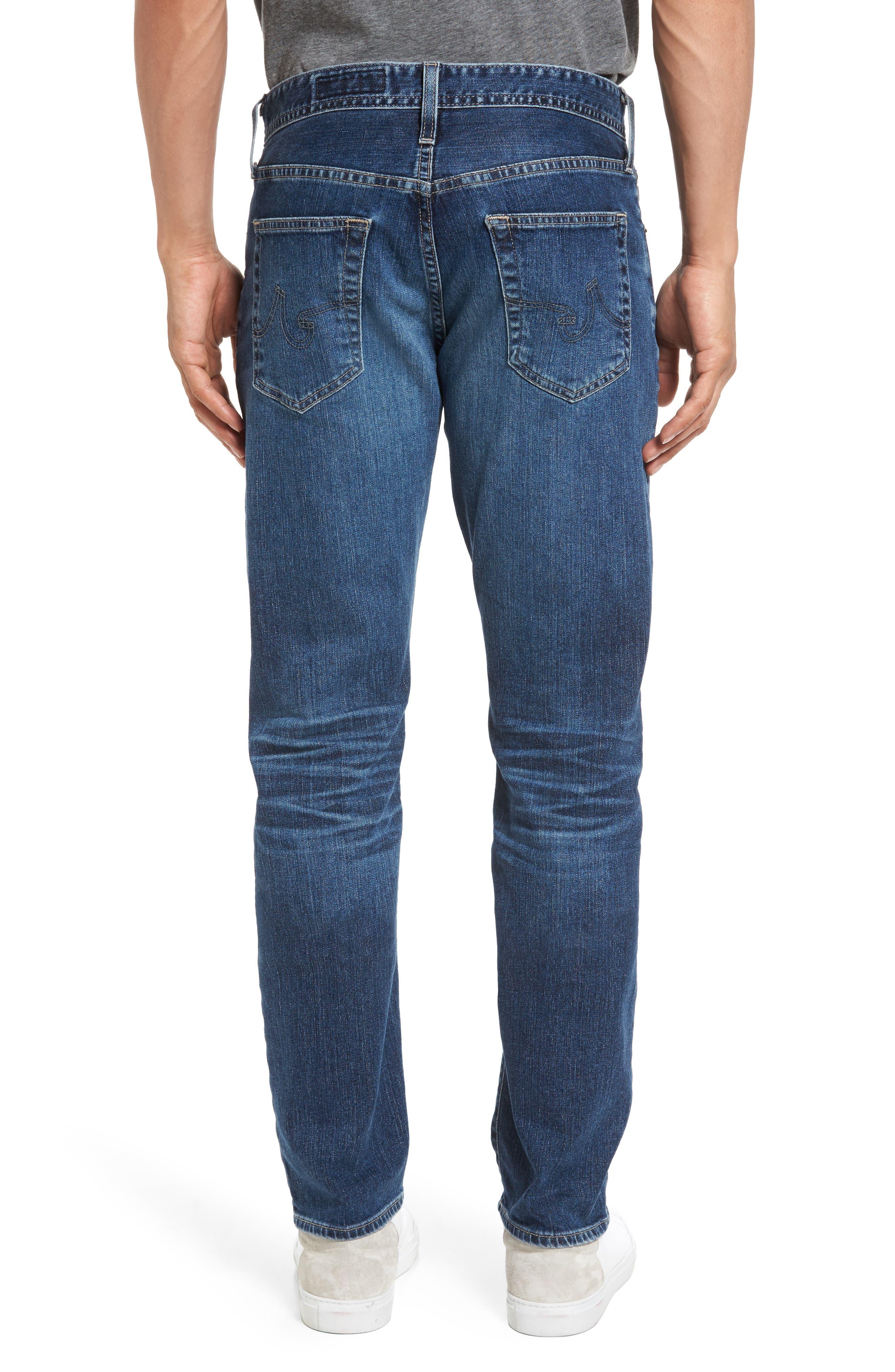 Alternate Image 2  - AG Everett Slim Straight Leg Jeans (13 Years Stasis)
