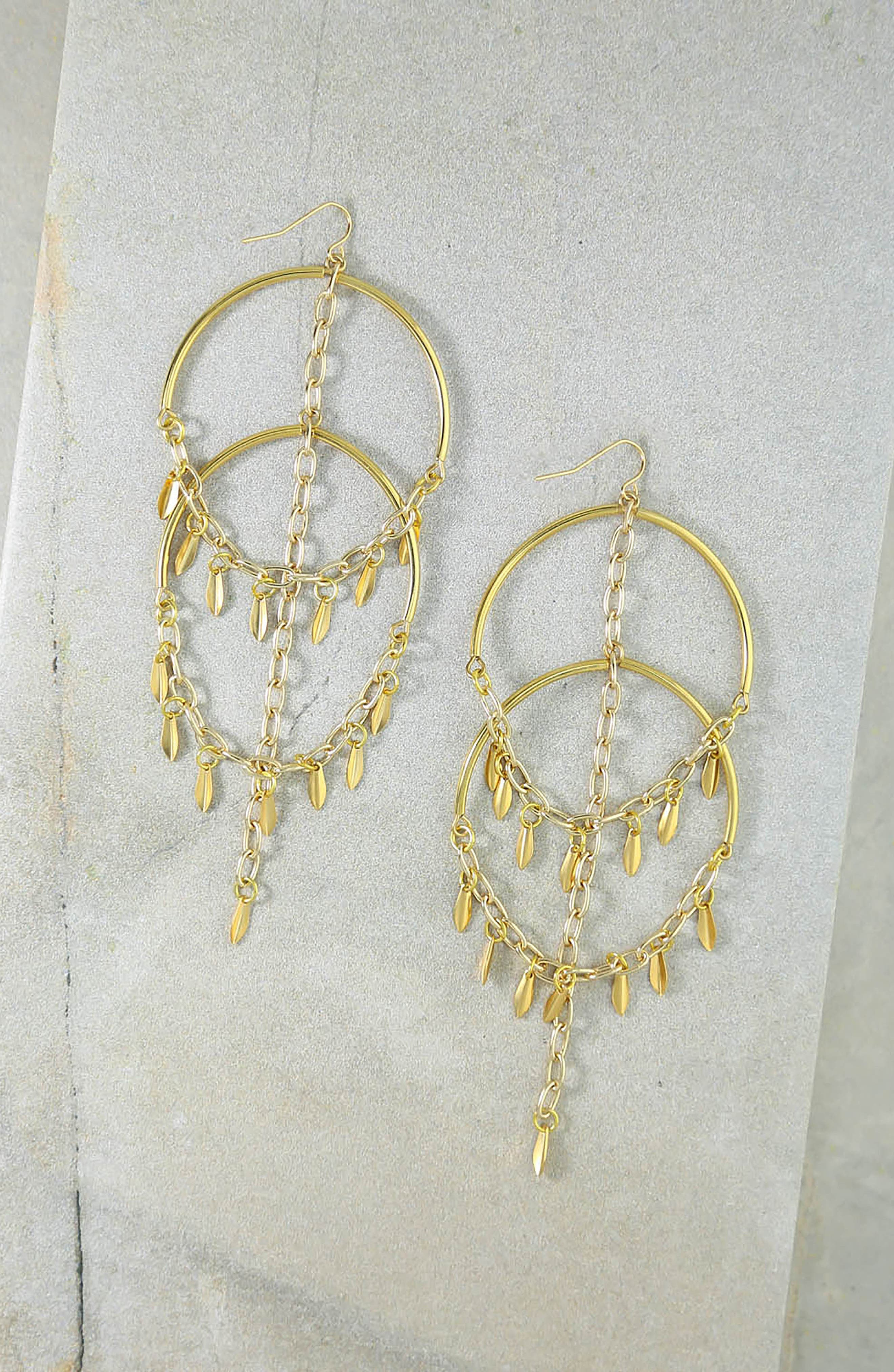Alternate Image 2  - Vanessa Mooney Cannes Chandelier Earrings