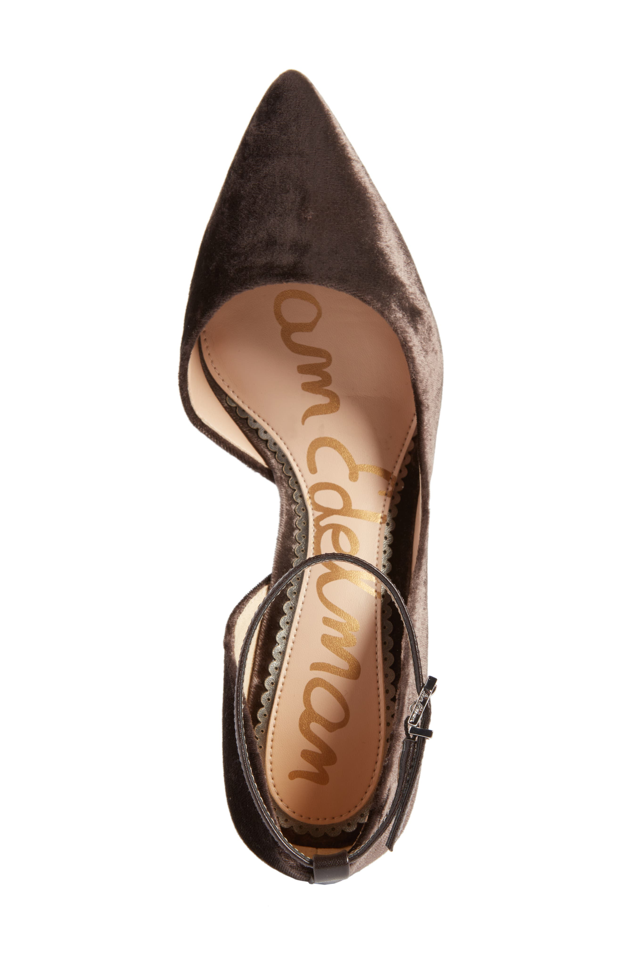 Alternate Image 5  - Sam Edelman Tia Ankle Strap Pump (Women)