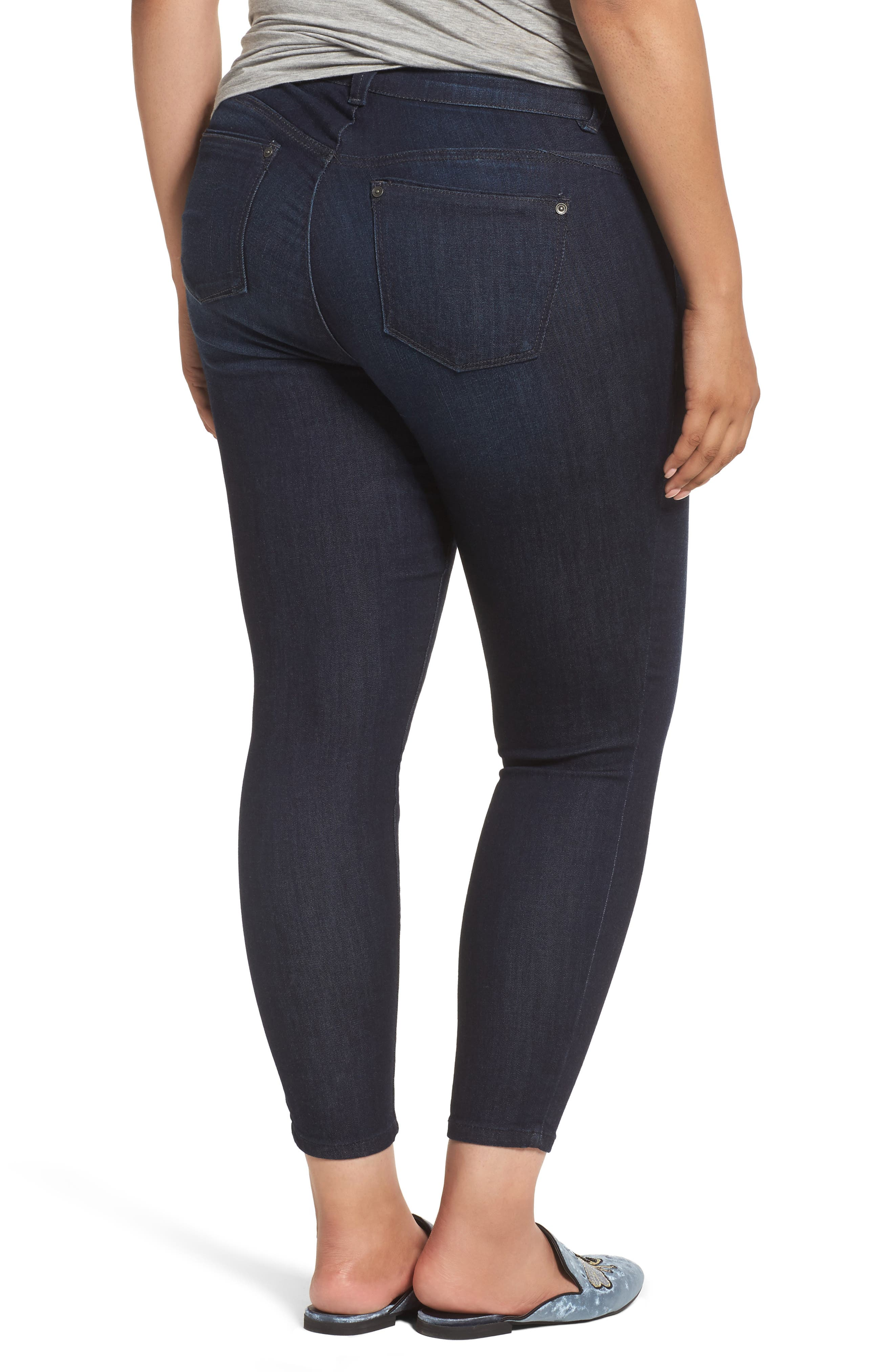 Alternate Image 2  - Wit & Wisdom Ab-solution Ankle Skimmer Jeans (Plus Size) (Nordstrom Exclusive)