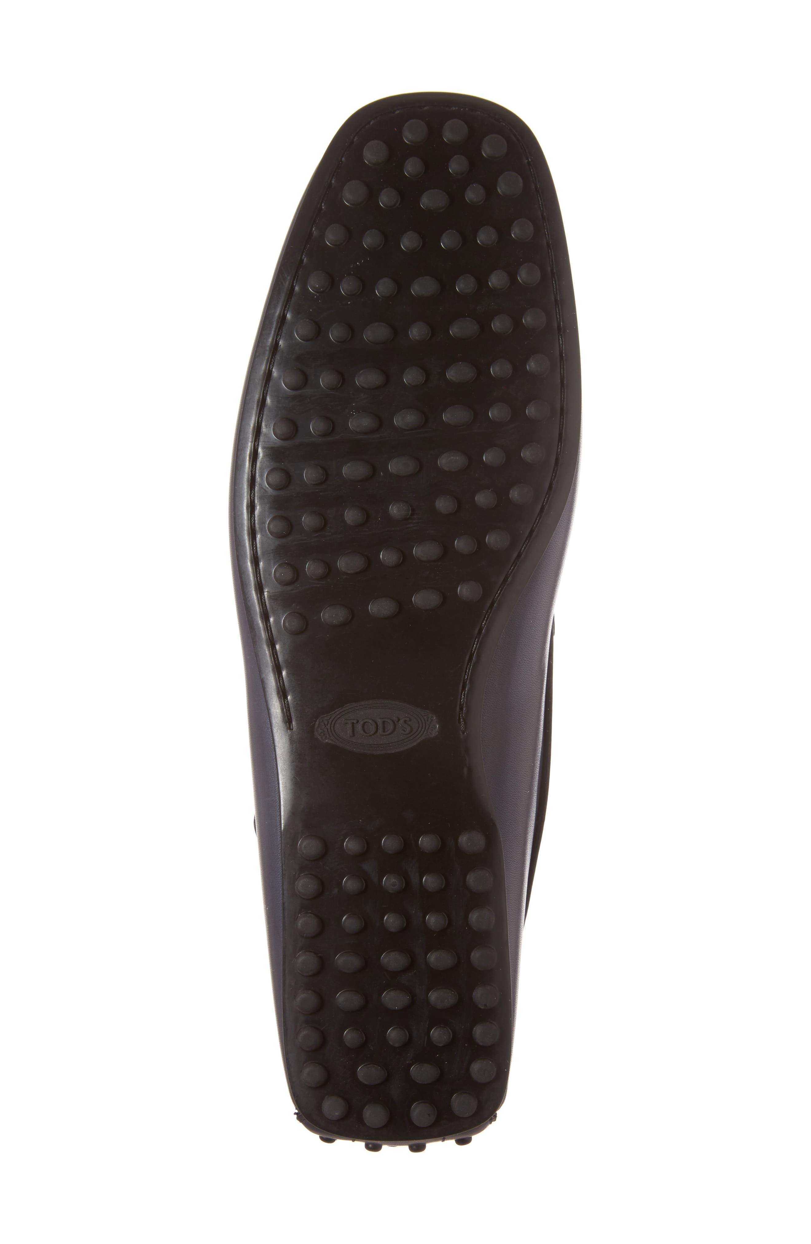 Gommini Driving Shoe,                             Alternate thumbnail 6, color,                             Dark Grey Leather