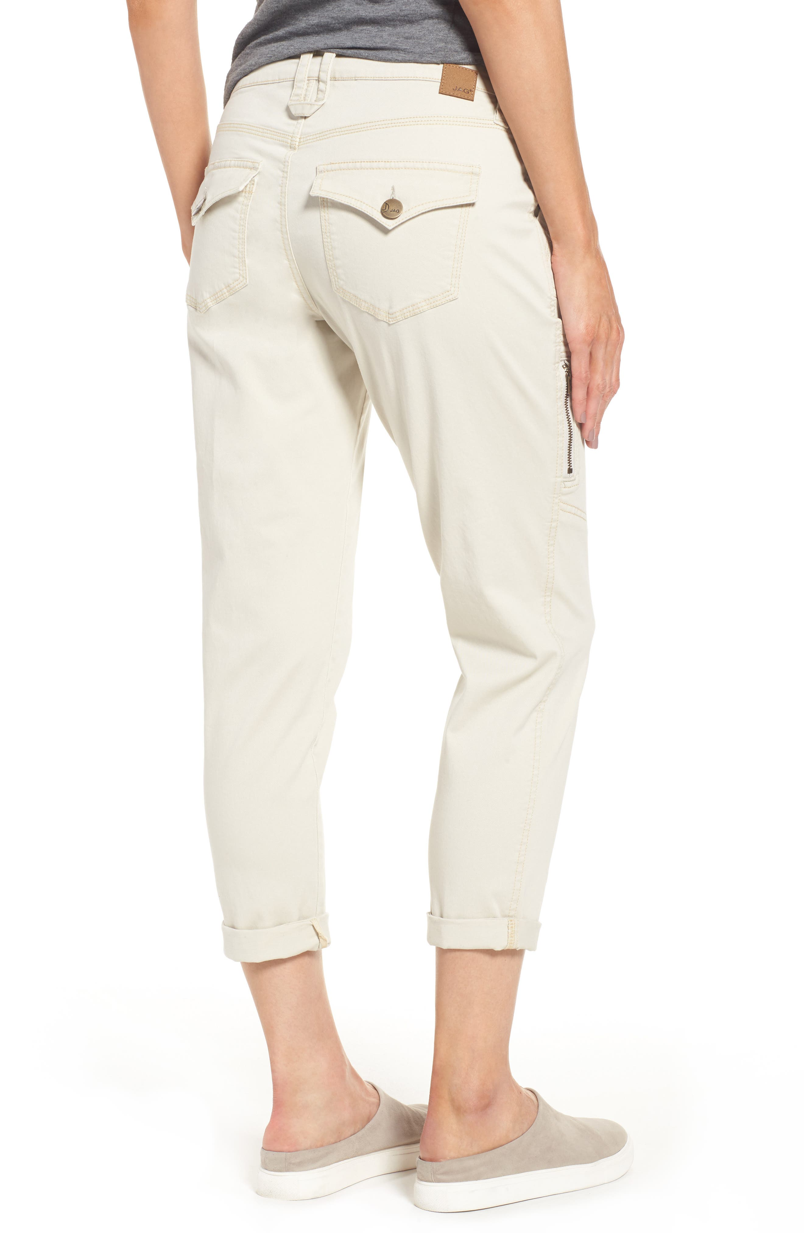 Gable Stretch Twill Utility Pants,                             Alternate thumbnail 2, color,                             Stone