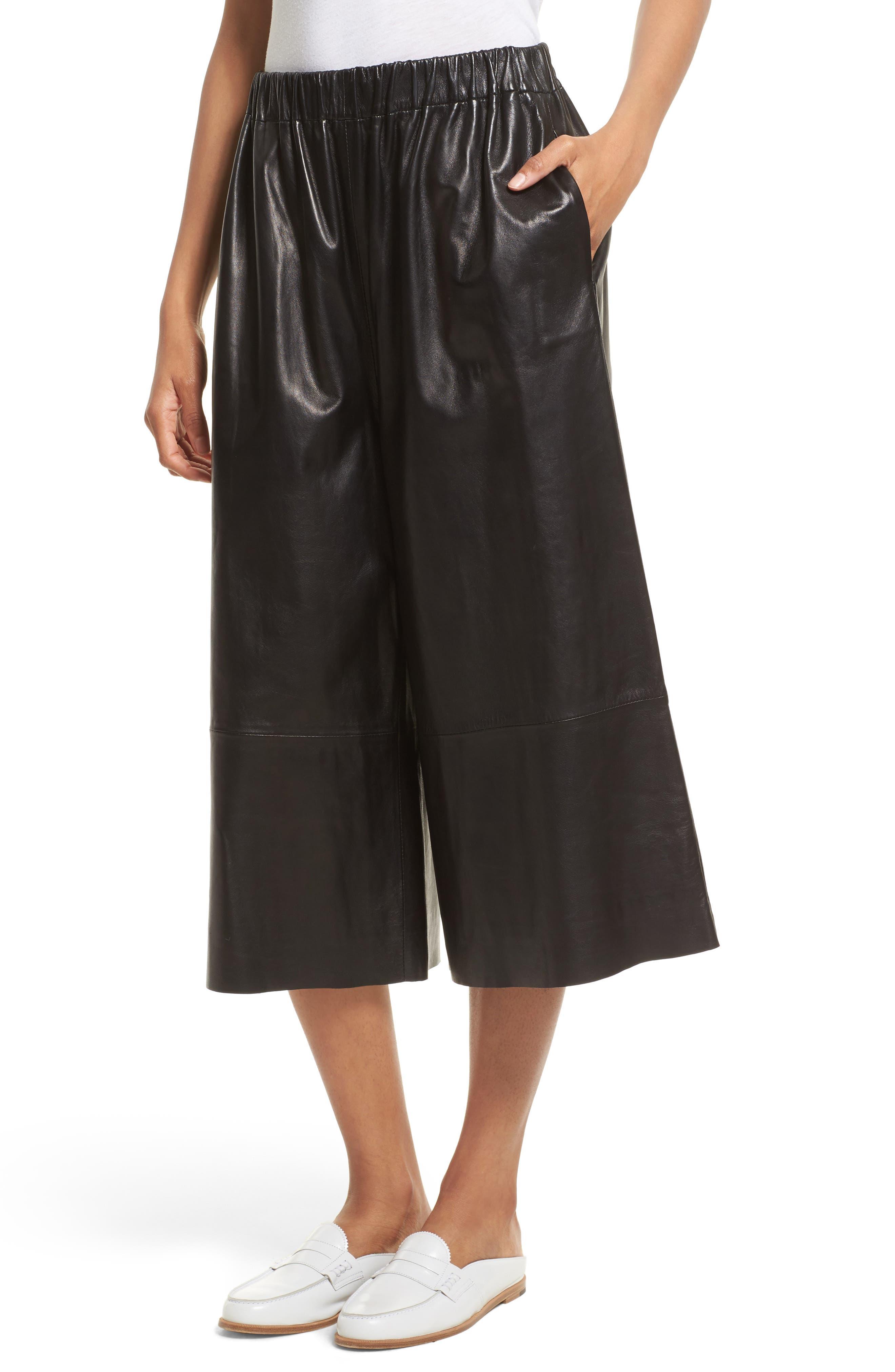 Alternate Image 5  - Robert Rodriguez Leather Gaucho Pants