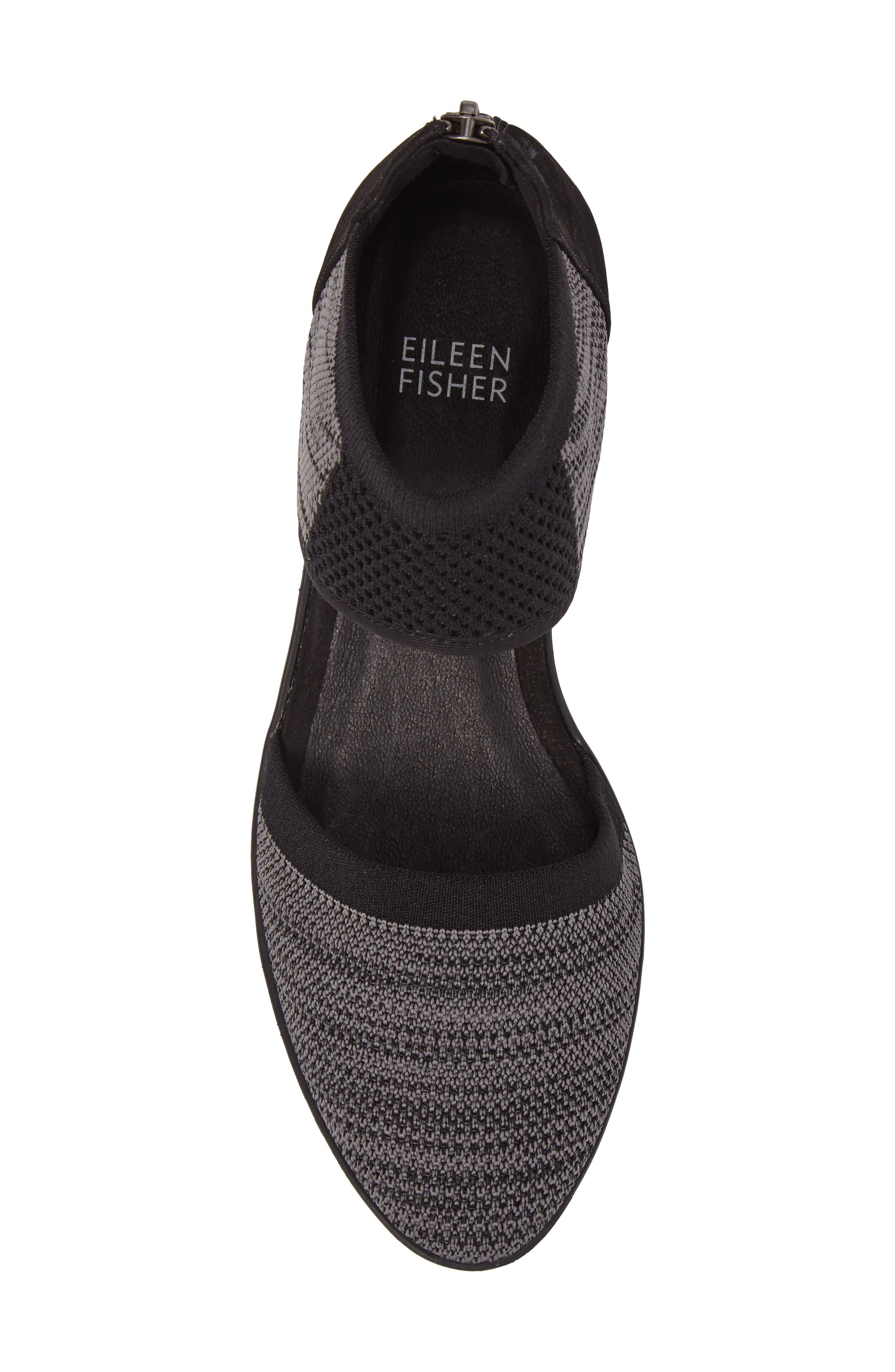 Alternate Image 5  - Eileen Fisher Ogden Knit Wedge (Women)