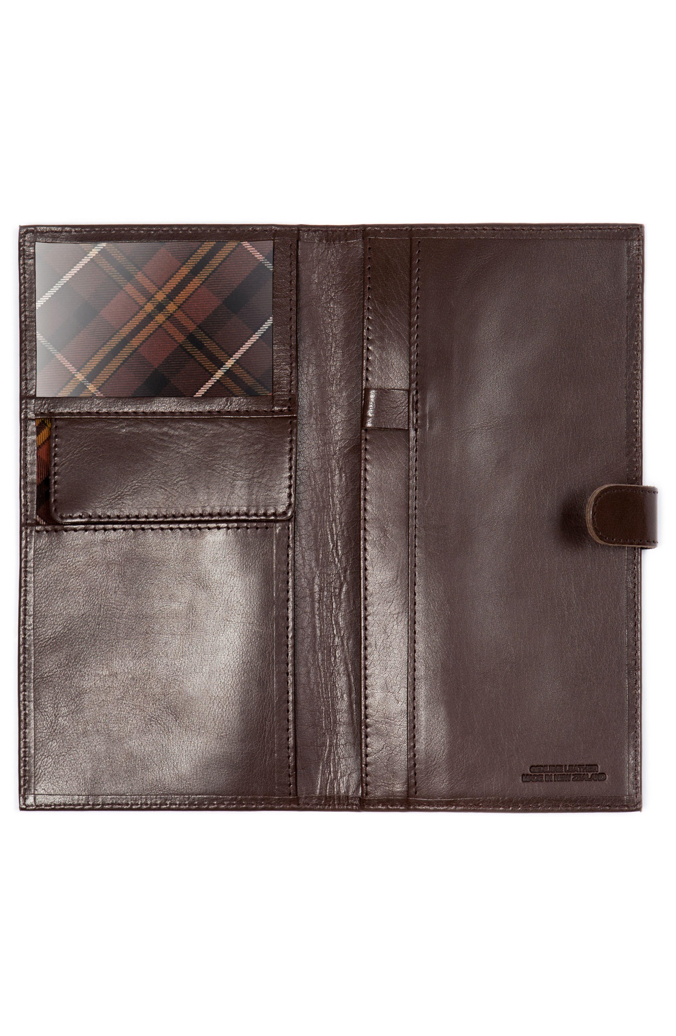 Tom Pearce Travel Wallet,                             Alternate thumbnail 2, color,                             Mud