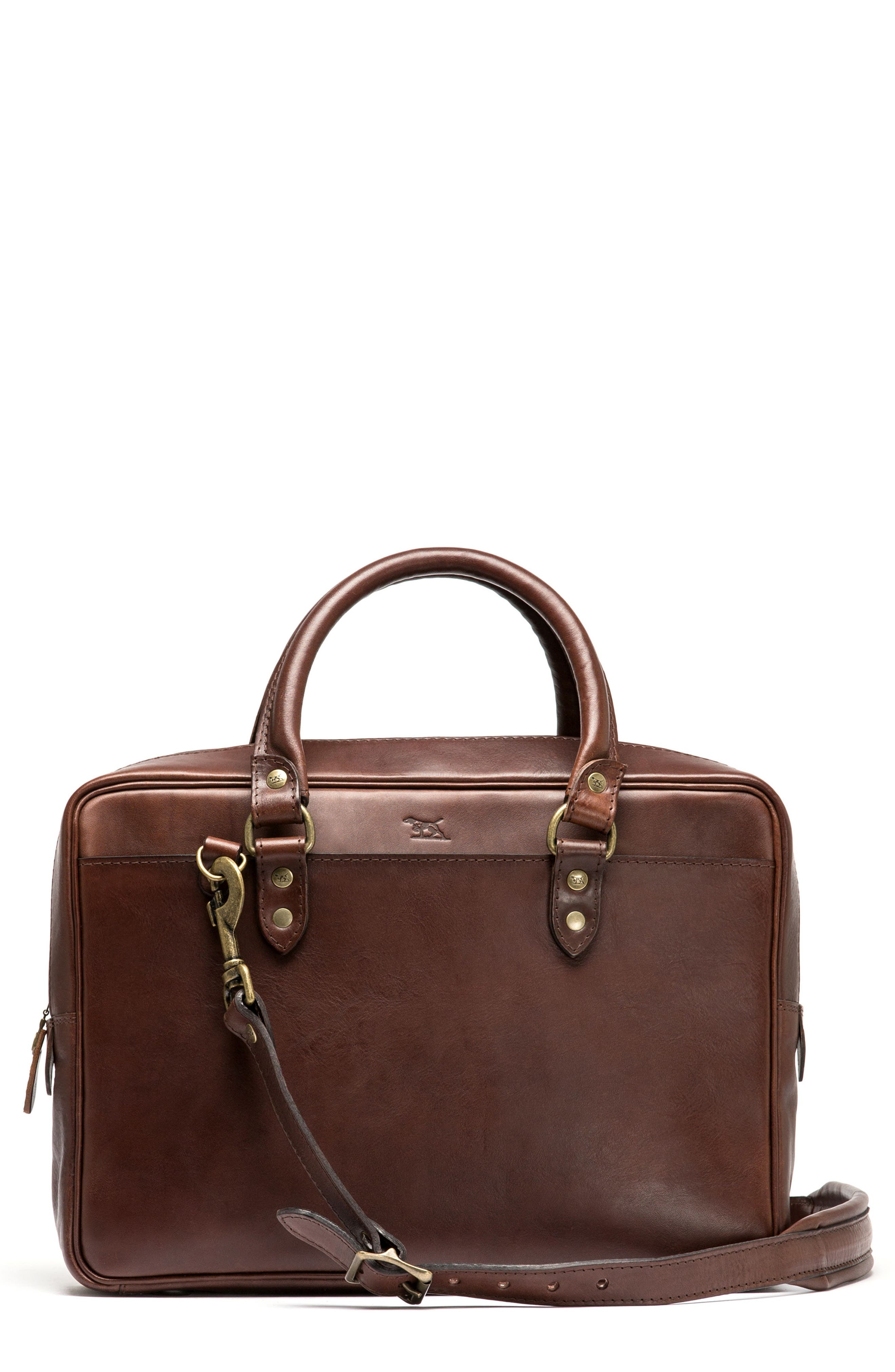 RODD & GUNN New Roxburgh Leather Briefcase