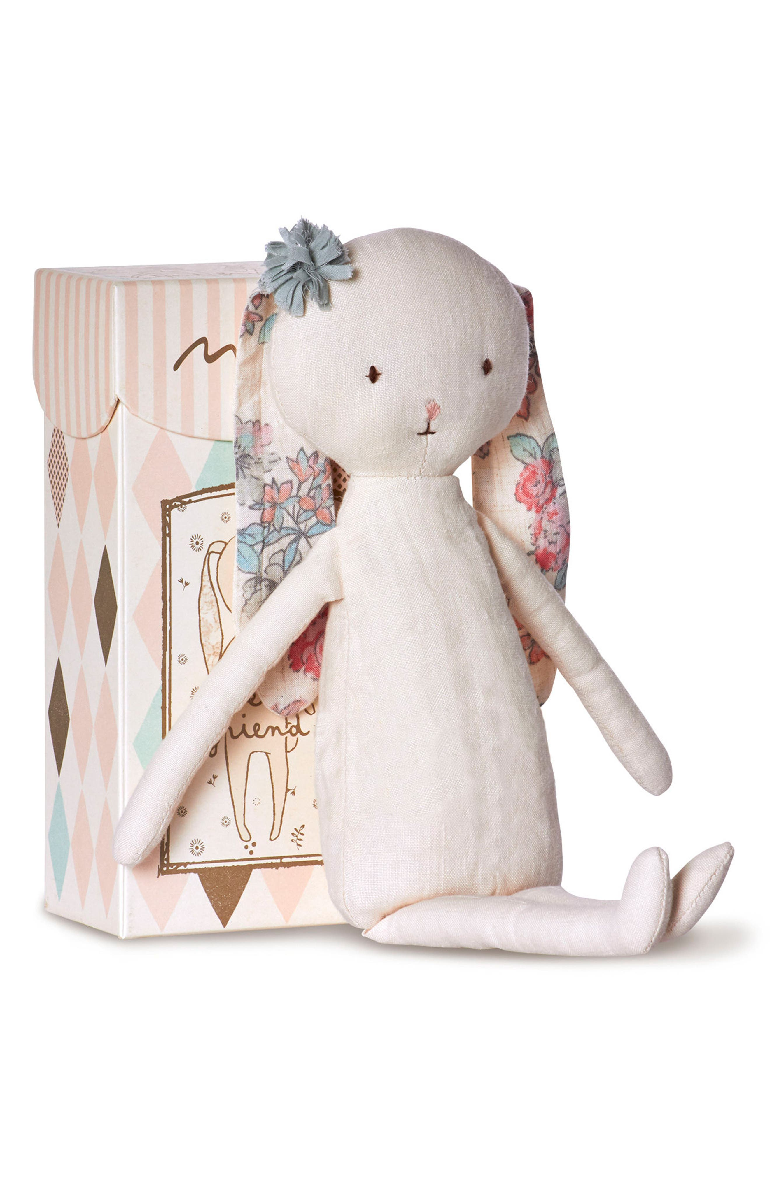 Best Friends Bunny Stuffed Animal,                             Alternate thumbnail 2, color,                             Ivory