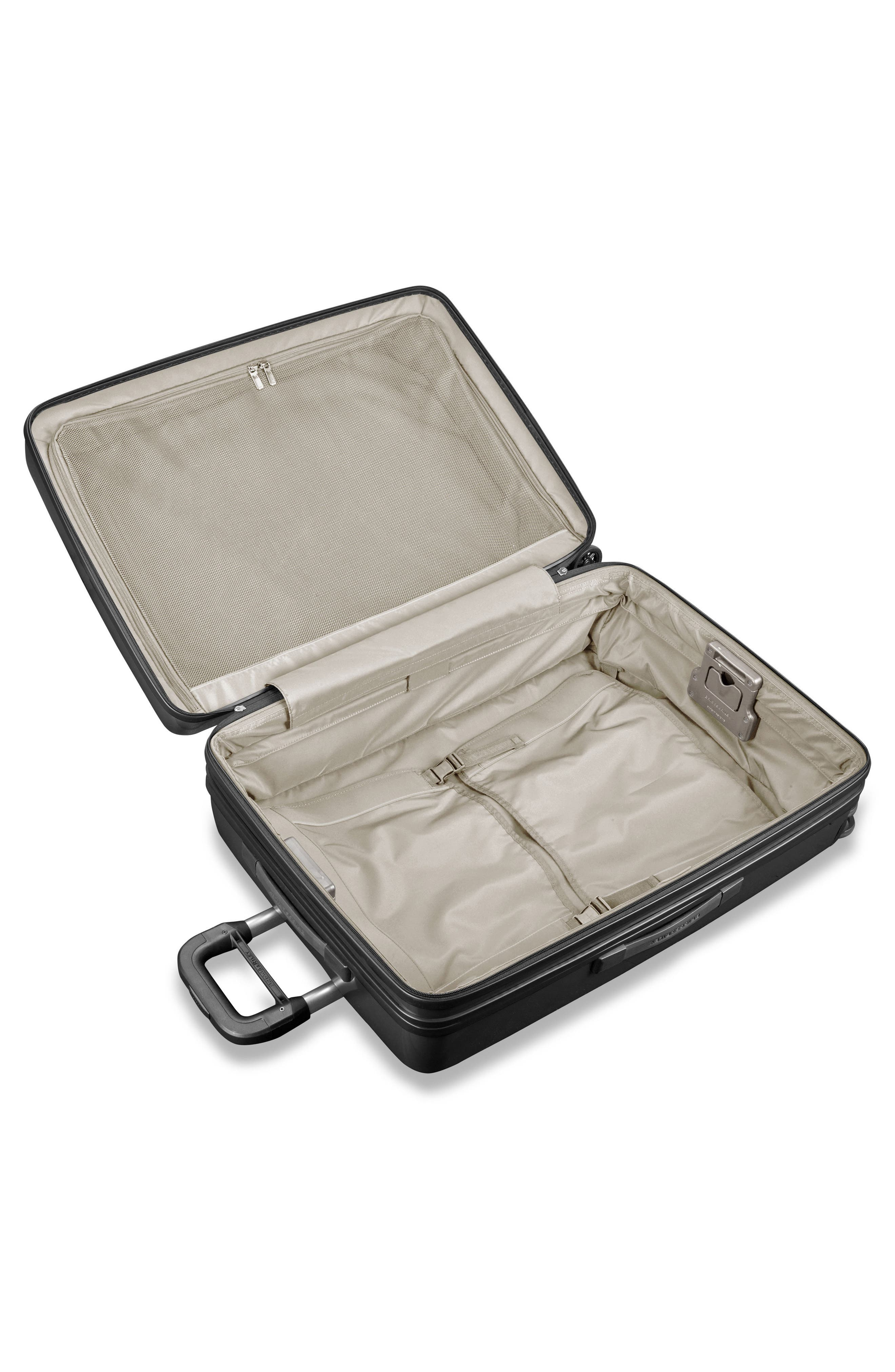 Sympatico 30-Inch Expandable Wheeled Packing Case,                             Alternate thumbnail 2, color,                             Onyx