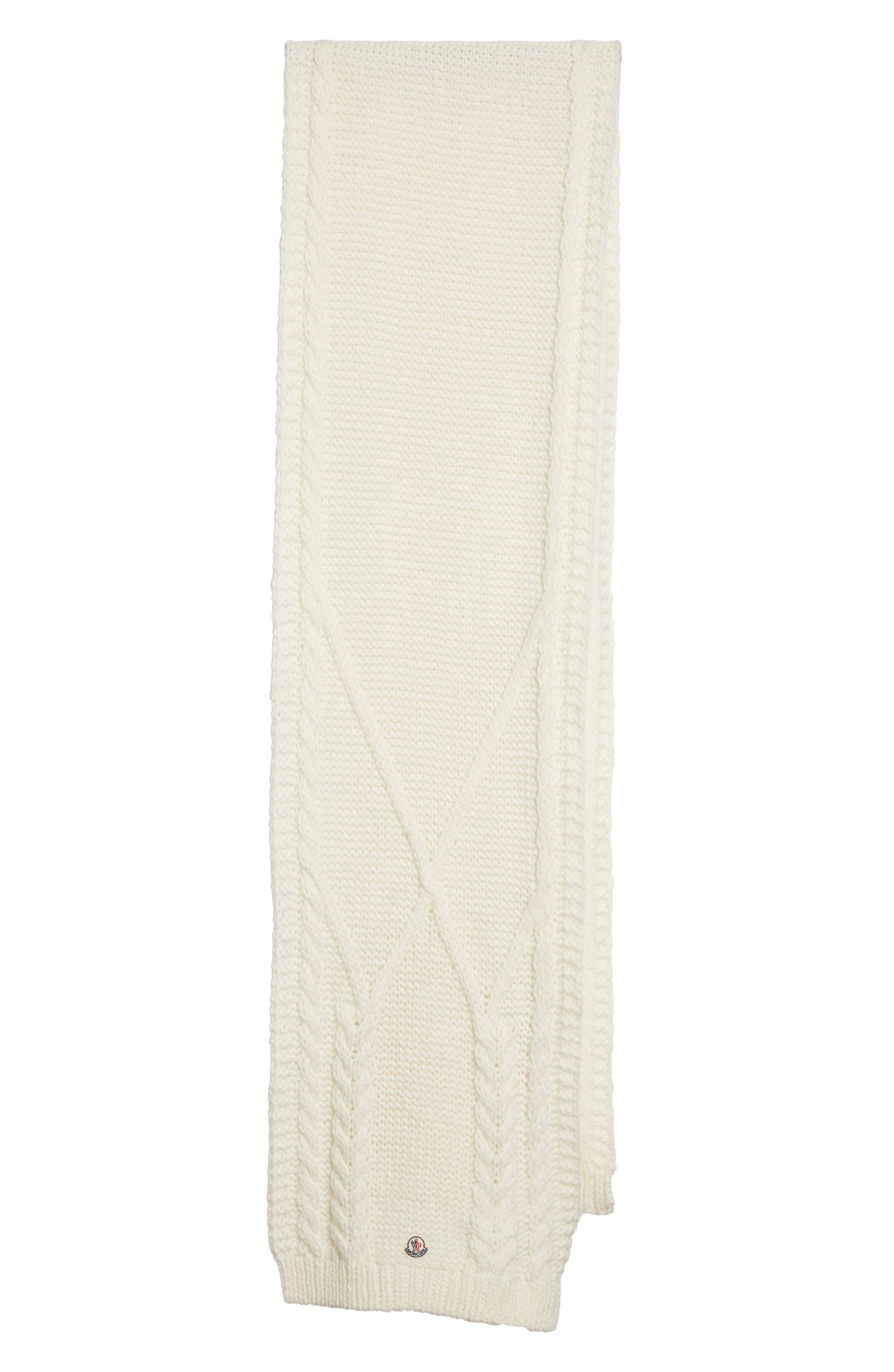 Main Image - Moncler Scarpa Wool Blend Scarf