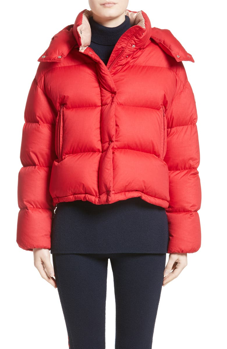 Paeonia Quilted Puffer Jacket