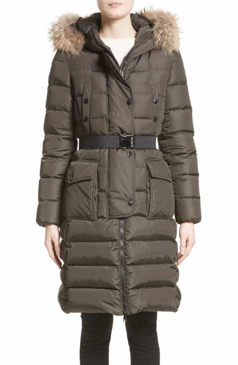 Moncler 'Khloe' Water Resistant Nylon Down Puffer Parka with Removable  Genuine Fox ... - Women's Parkas Nordstrom Nordstrom