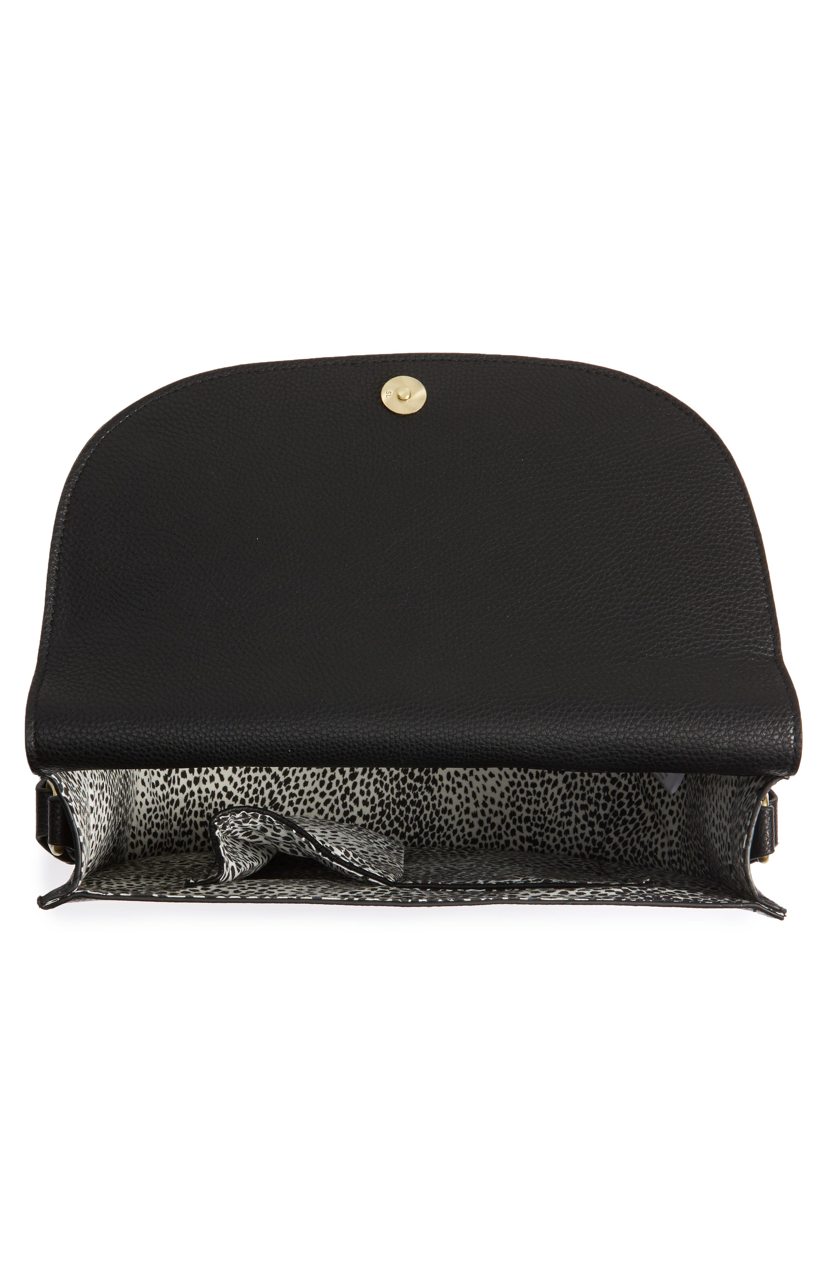 Alternate Image 5  - Sole Society Honor Faux Leather Messenger Bag