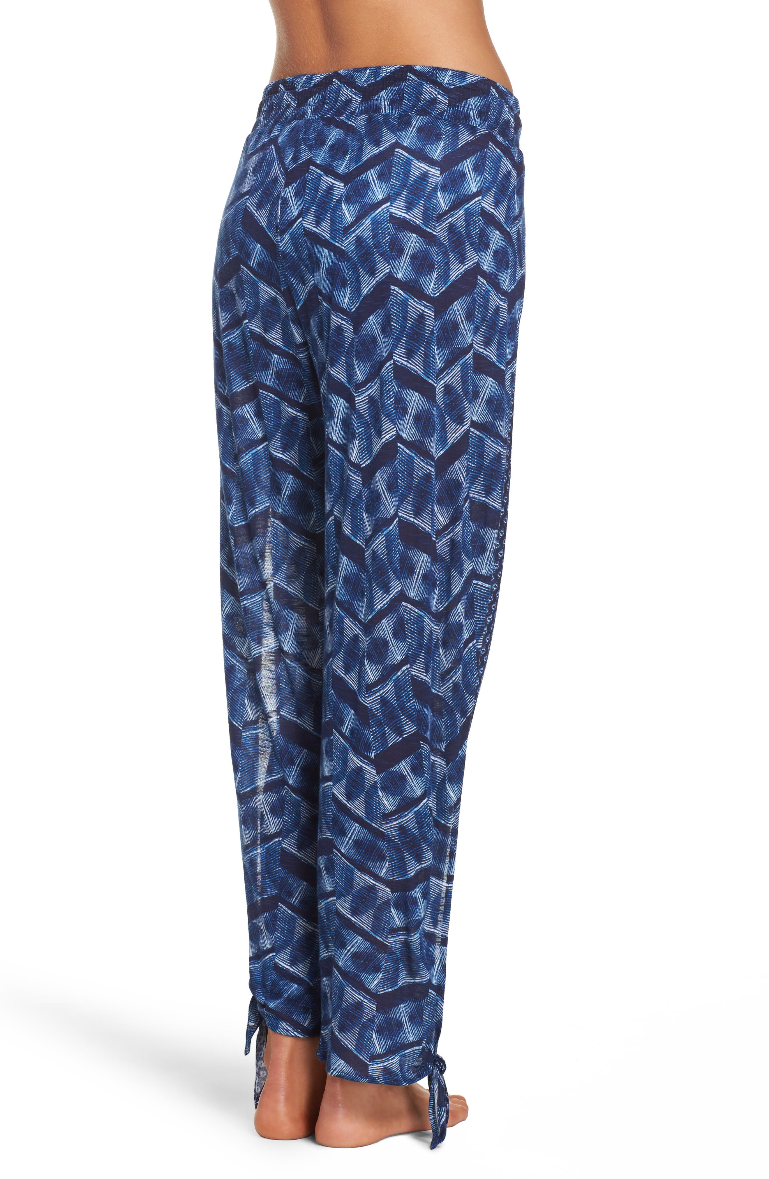 Alternate Image 2  - Lucky Brand Nomad Ankle Tie Cover-Up Pants
